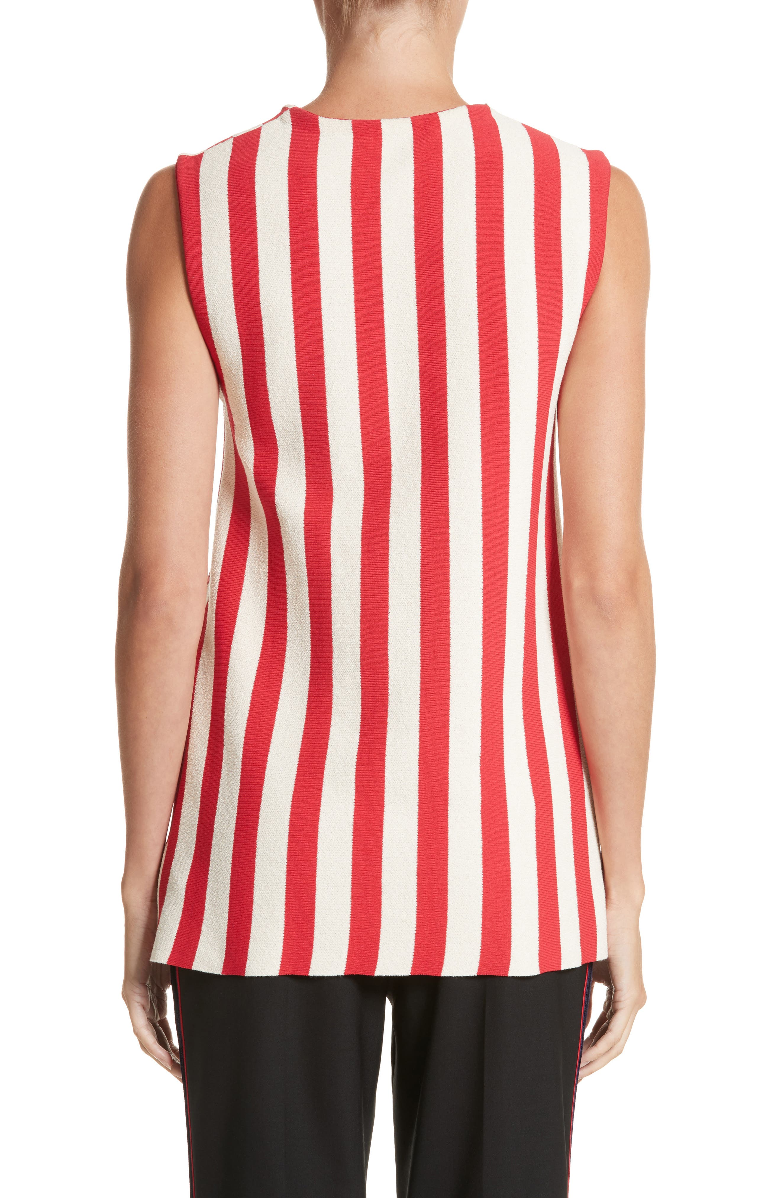 Stripe Top,                             Alternate thumbnail 2, color,                             600