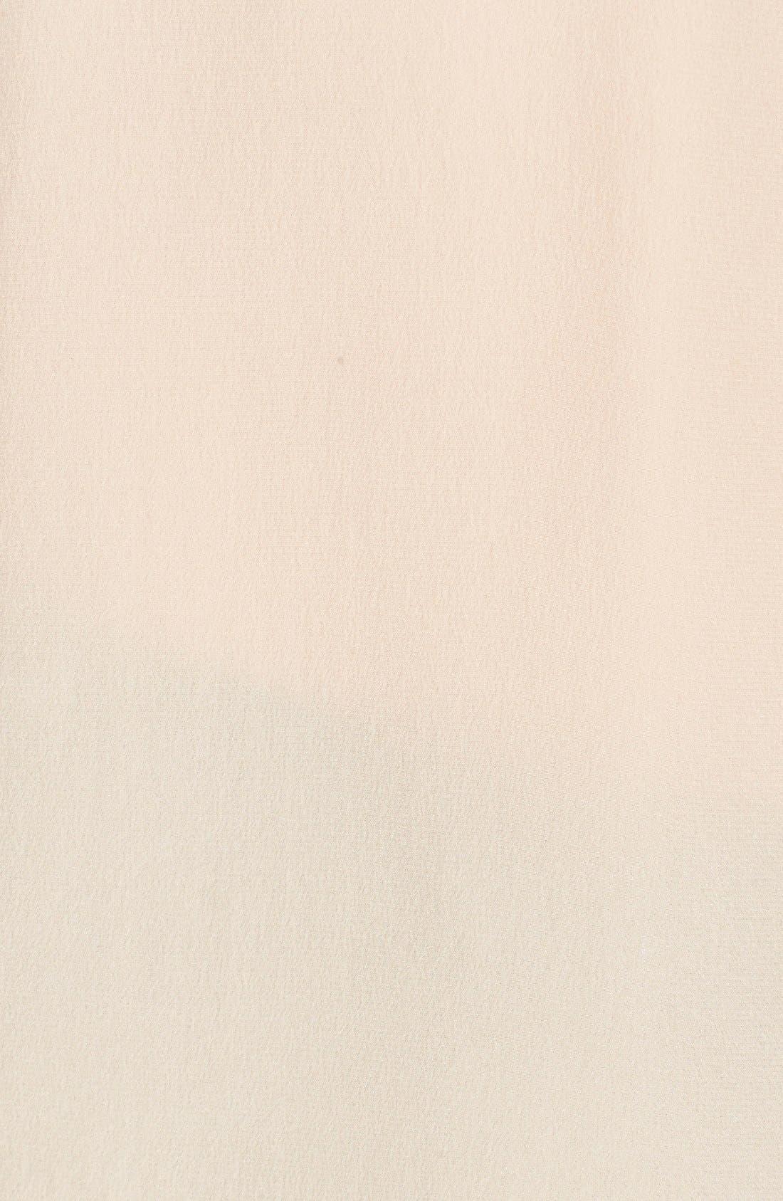 'Slim Signature' Sleeveless Silk Shirt,                             Alternate thumbnail 193, color,