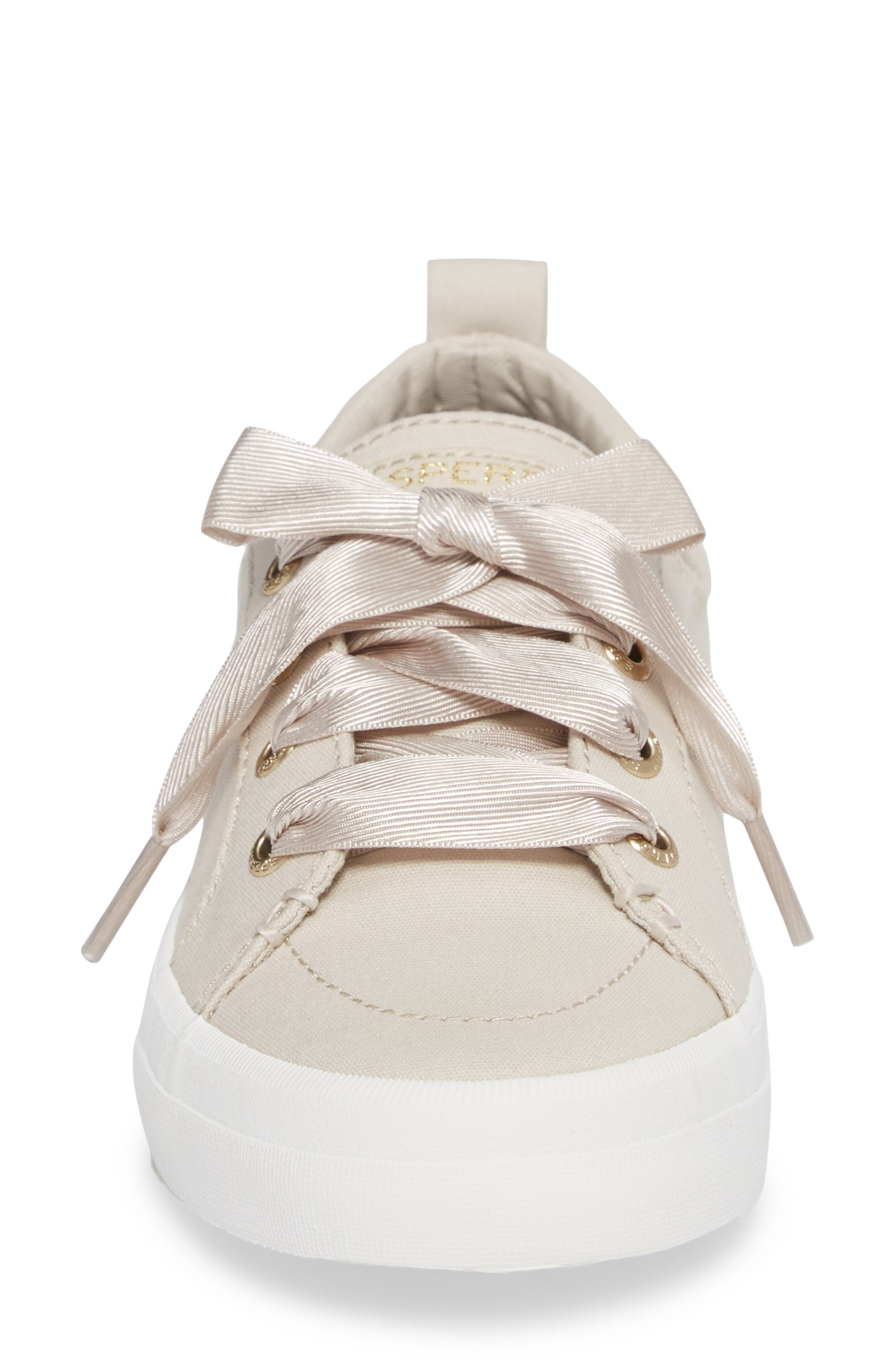 Crest Vibe Satin Lace Sneaker,                             Alternate thumbnail 11, color,