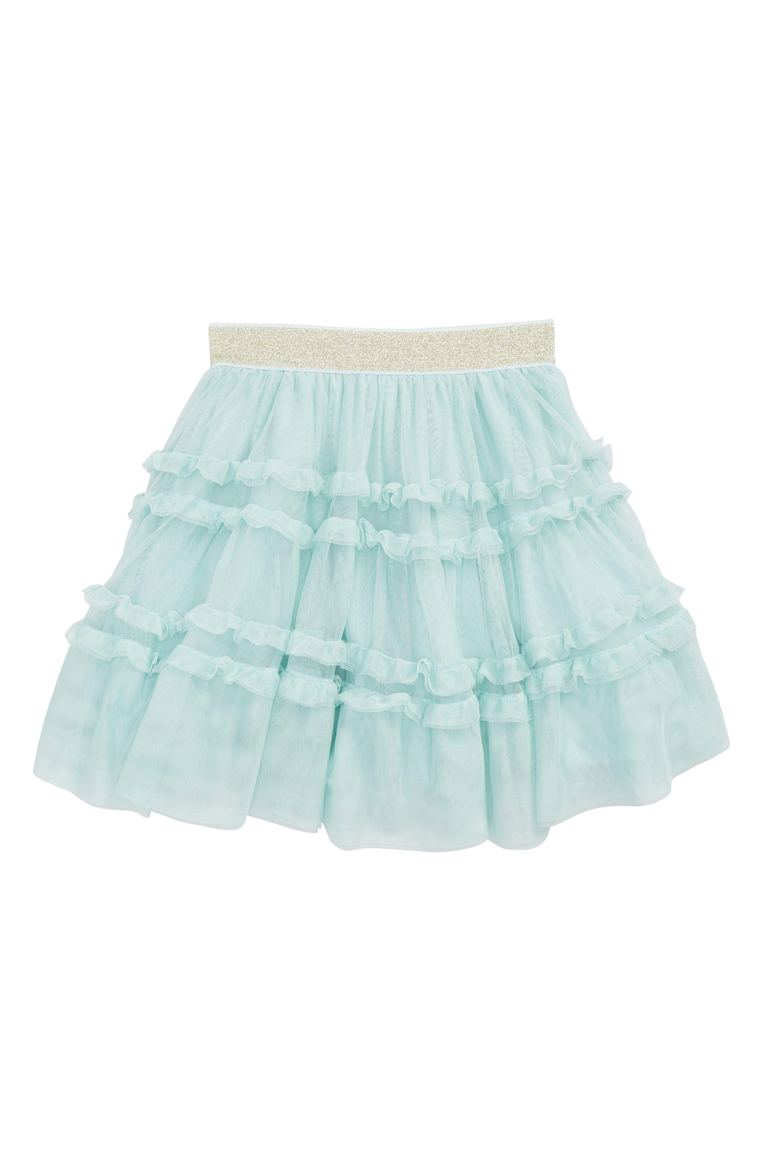 Ruffle Tulle Skirt,                         Main,                         color,