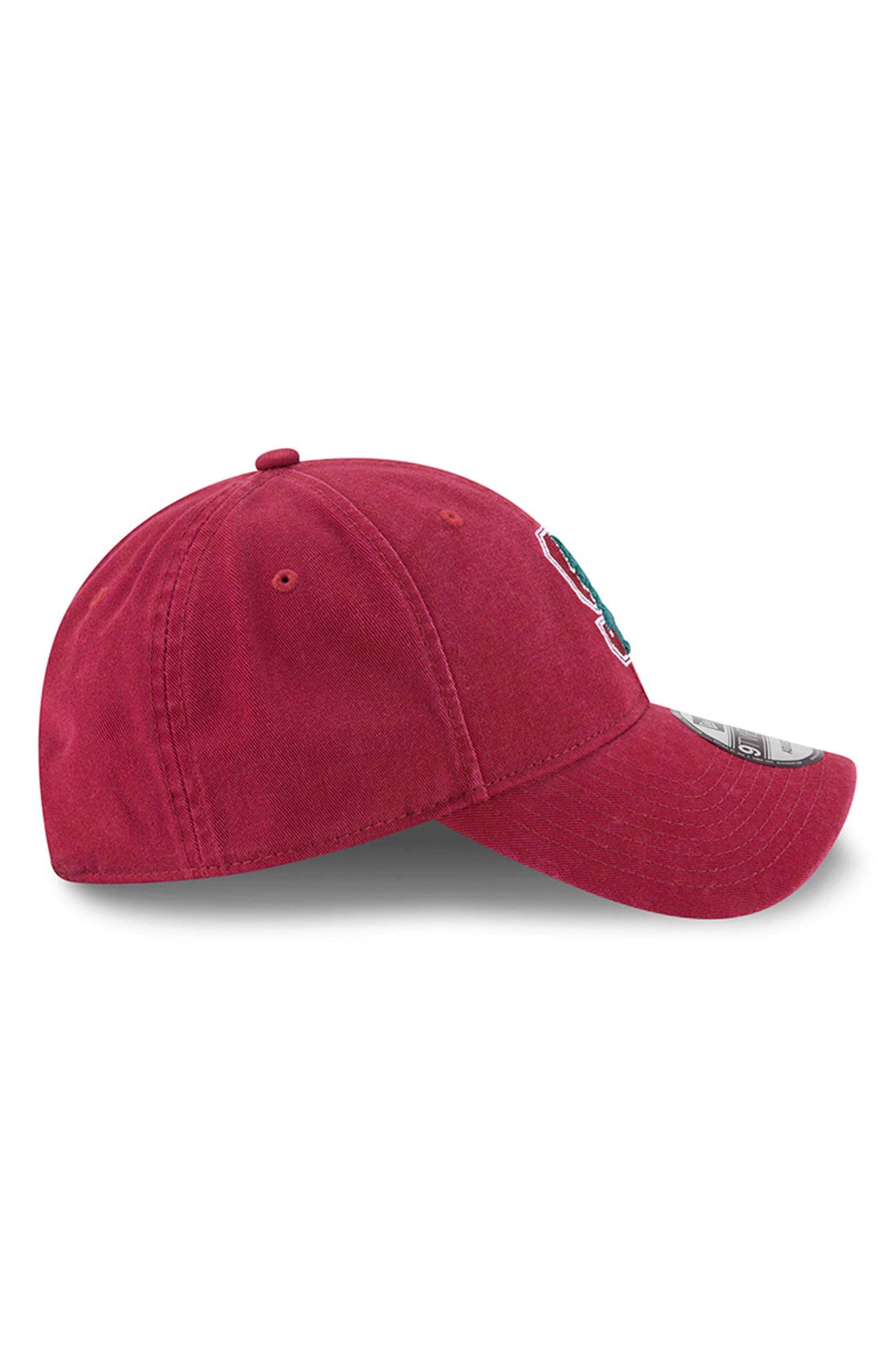 New Era Collegiate Core Classic - Stanford Cardinal Baseball Cap,                             Alternate thumbnail 4, color,                             601