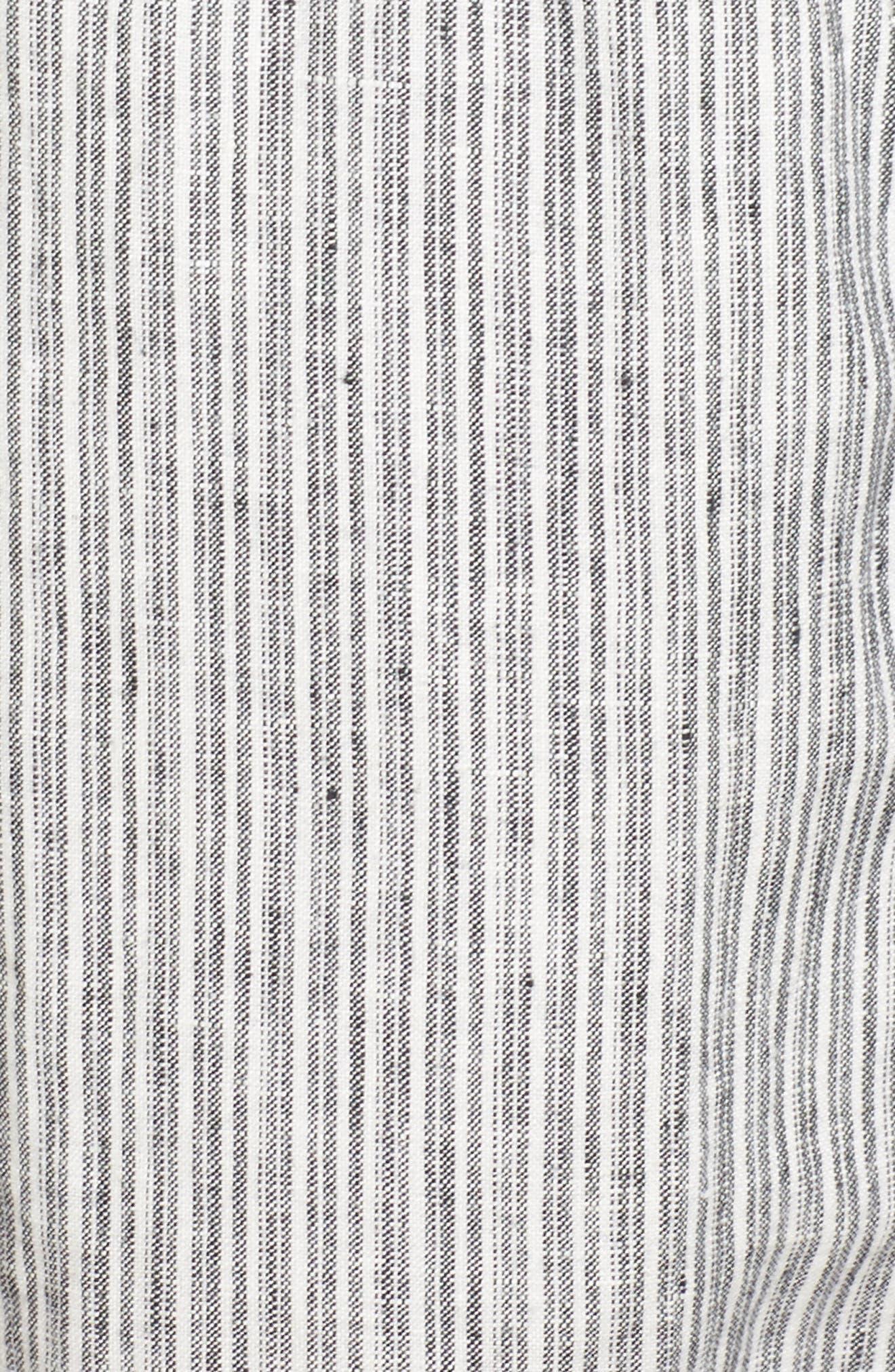 Linen Crop Pants,                             Alternate thumbnail 35, color,