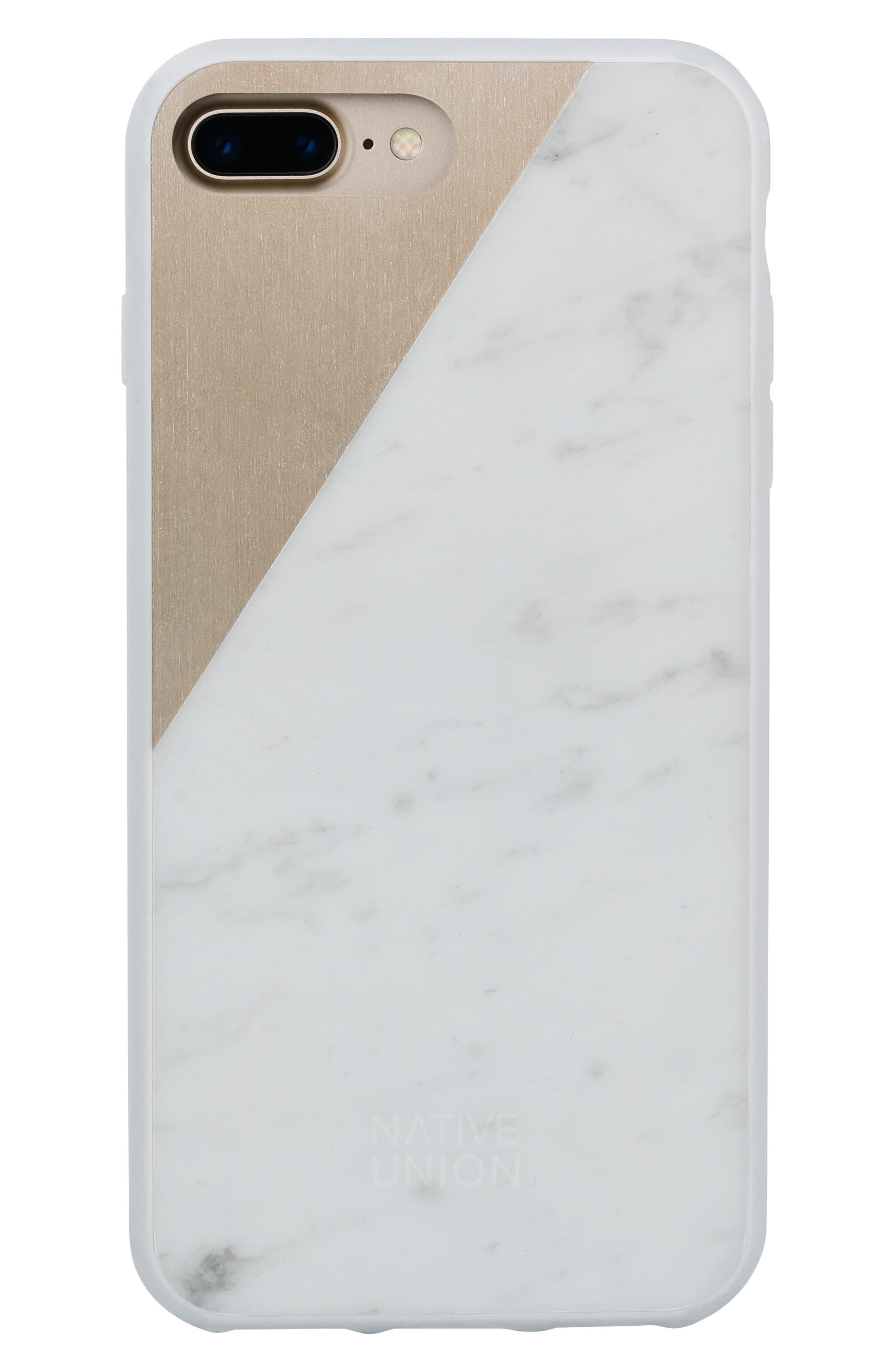 CLIC Marble iPhone 7 & 7 Plus Case,                             Alternate thumbnail 2, color,                             100