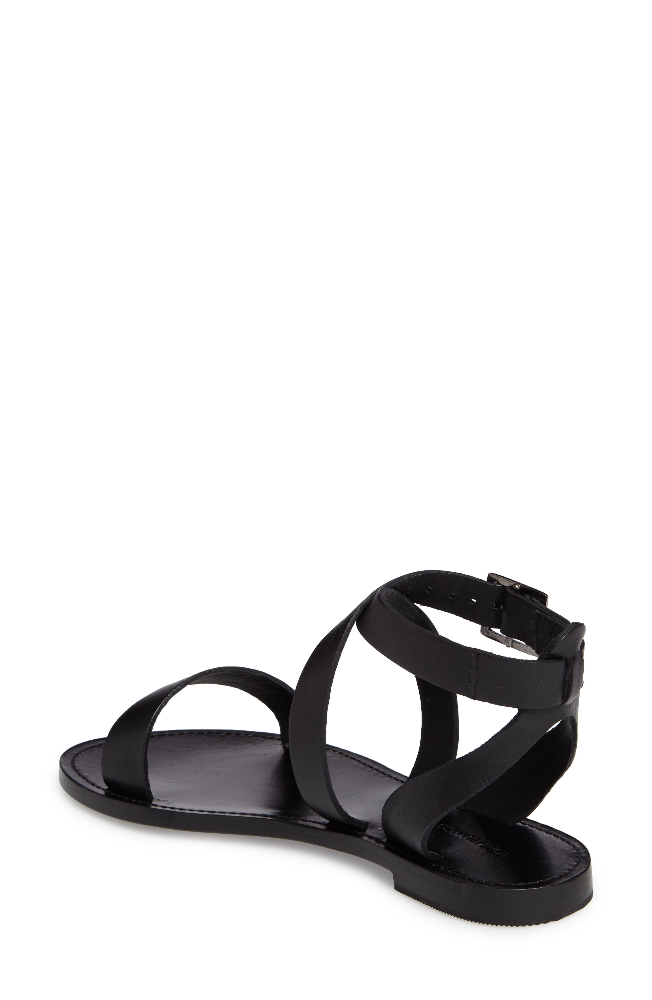 Flo Ankle Strap Sandal,                             Alternate thumbnail 2, color,                             001