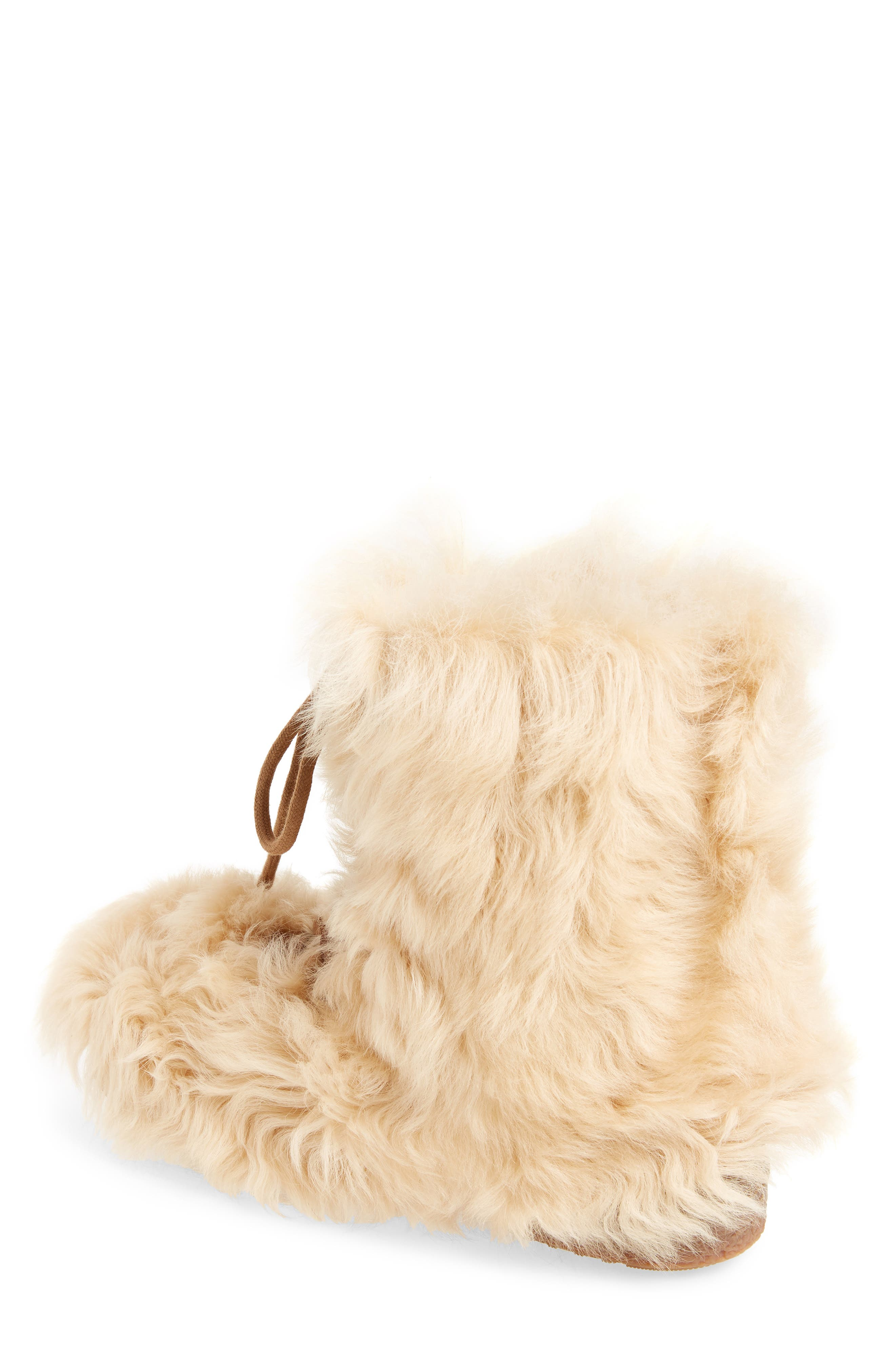 Furry Genuine Shearling Boot,                             Alternate thumbnail 2, color,                             278