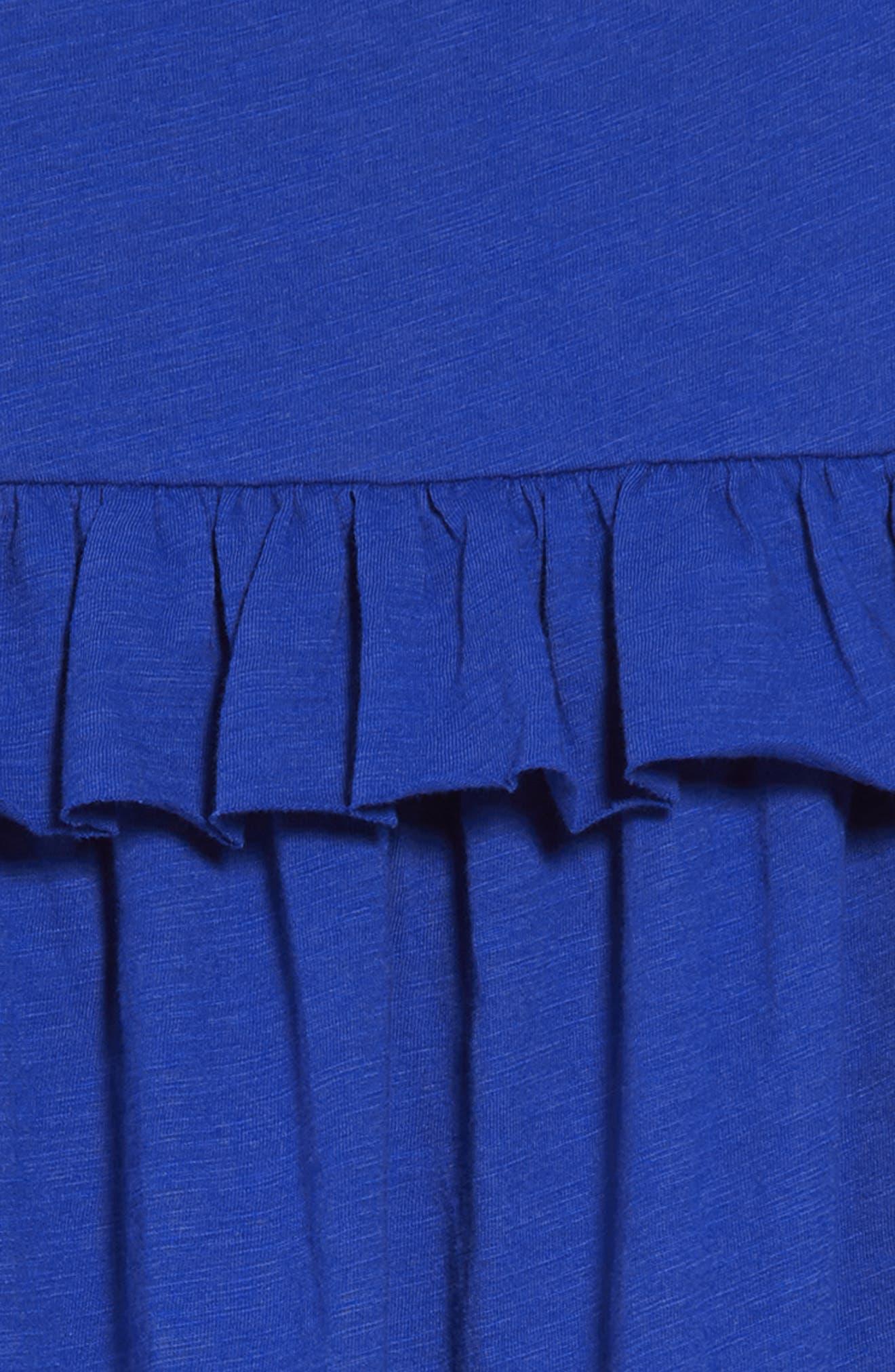 CREWCUTS BY J.CREW,                             Mimi Ruffle Dress,                             Alternate thumbnail 3, color,                             400