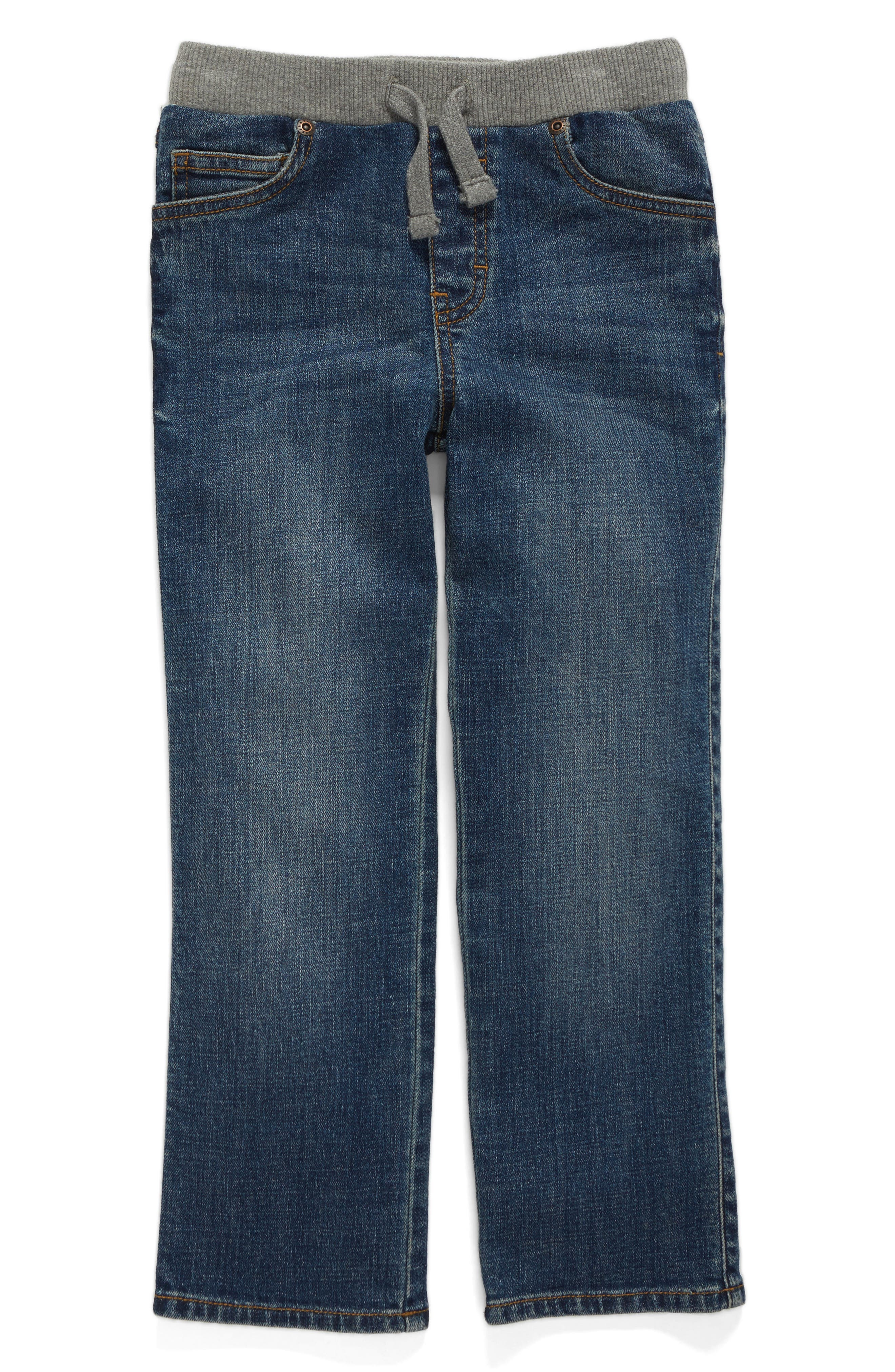 Straight Leg Jeans,                             Alternate thumbnail 2, color,                             401
