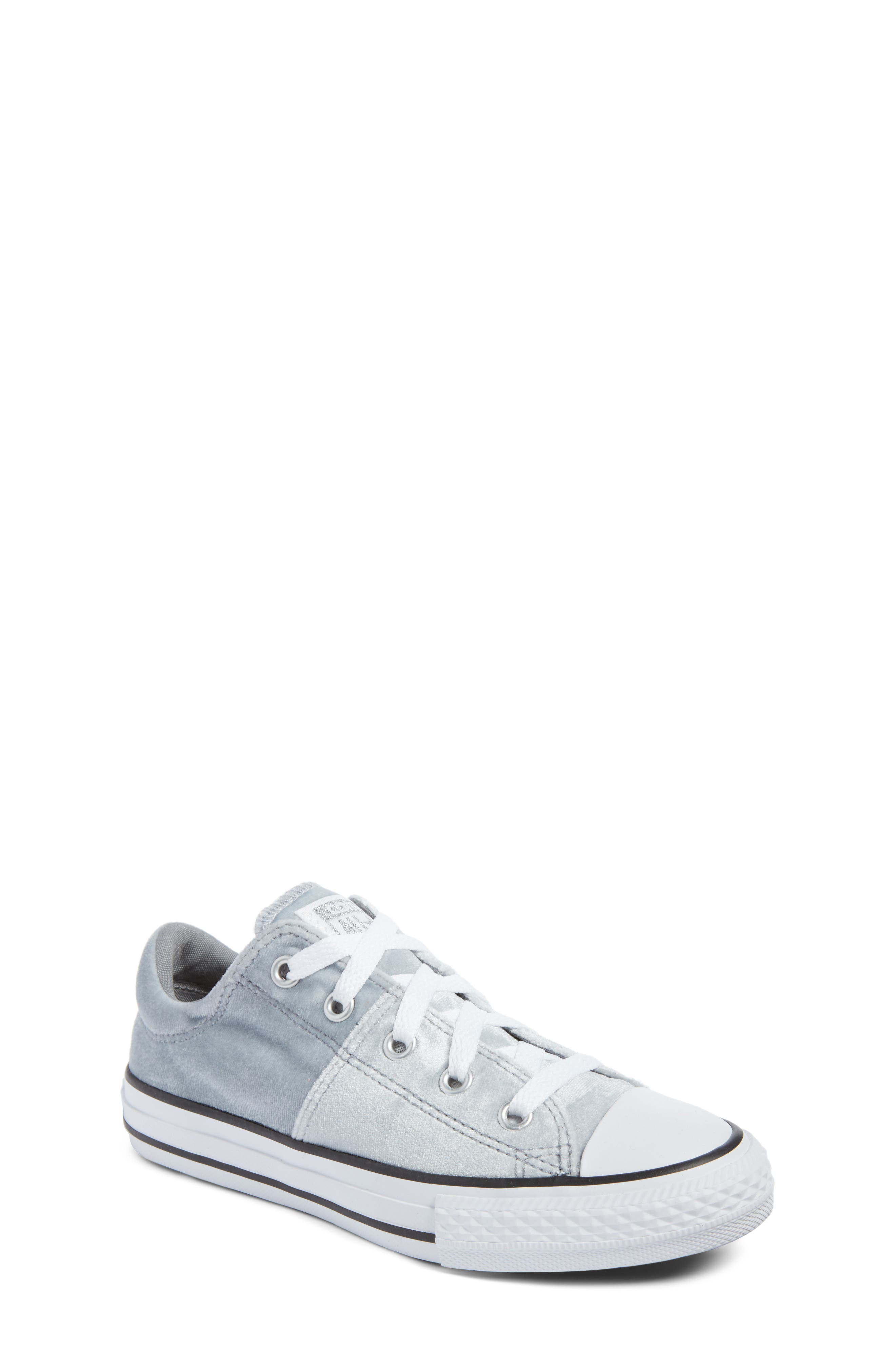 Chuck Taylor<sup>®</sup> All Star<sup>®</sup> Madison Velvet Low Top Sneaker,                             Main thumbnail 1, color,                             020