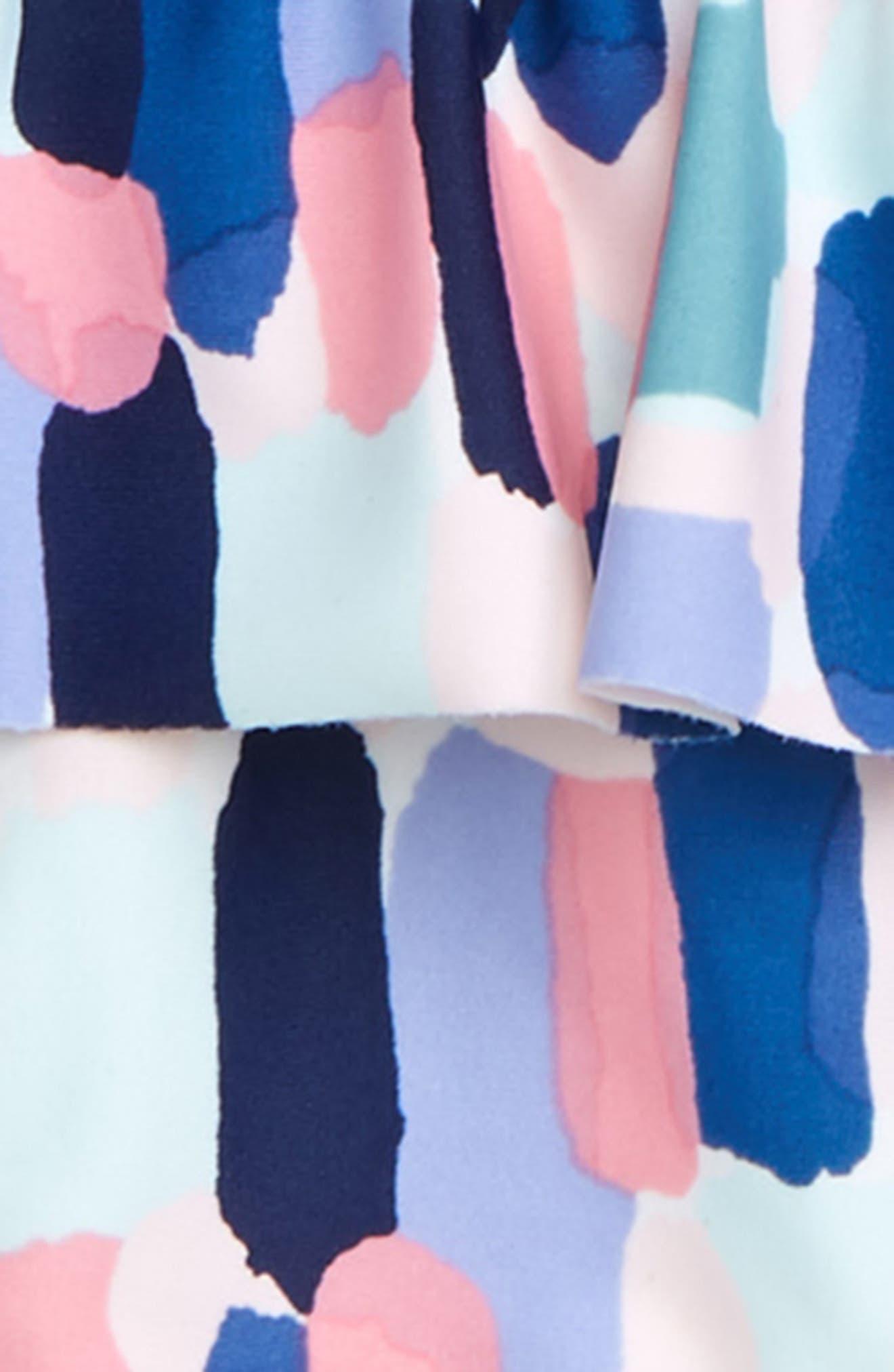 brush strokes 2-piece swimsuit,                             Alternate thumbnail 2, color,                             BRUSH STROKES