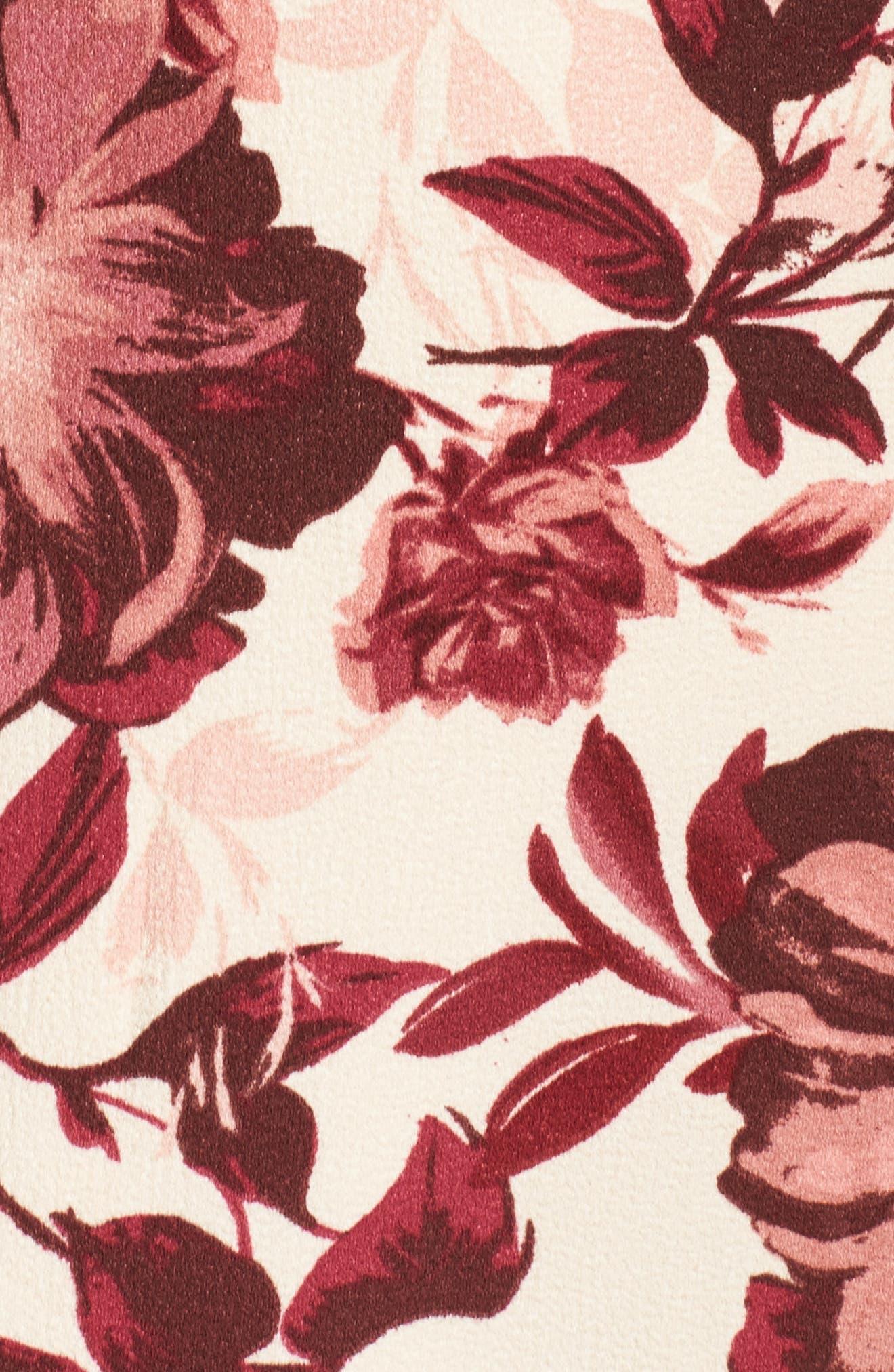 Bell Sleeve Minidress,                             Alternate thumbnail 5, color,                             658