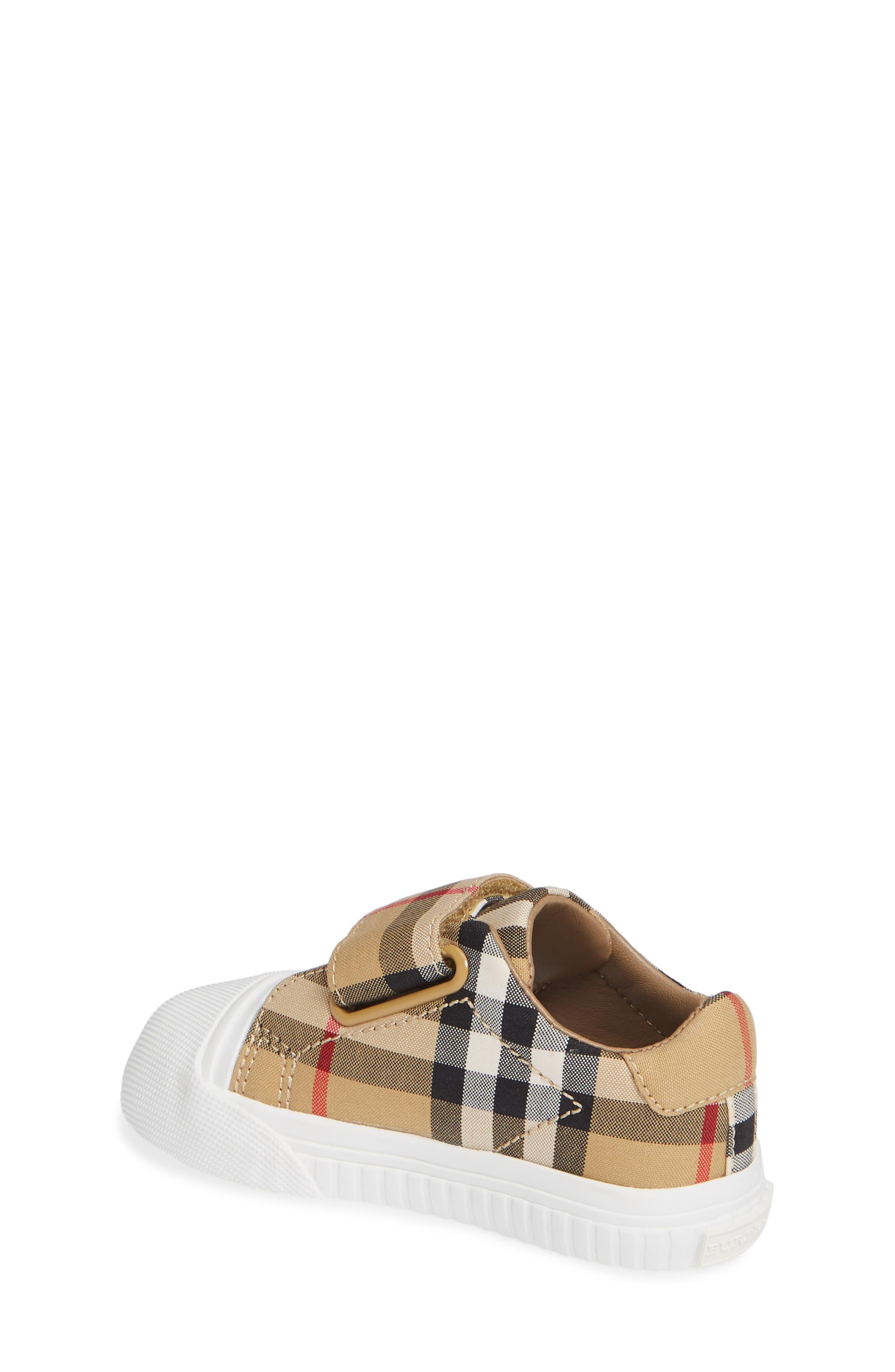 Beech Check Sneaker,                             Alternate thumbnail 4, color,