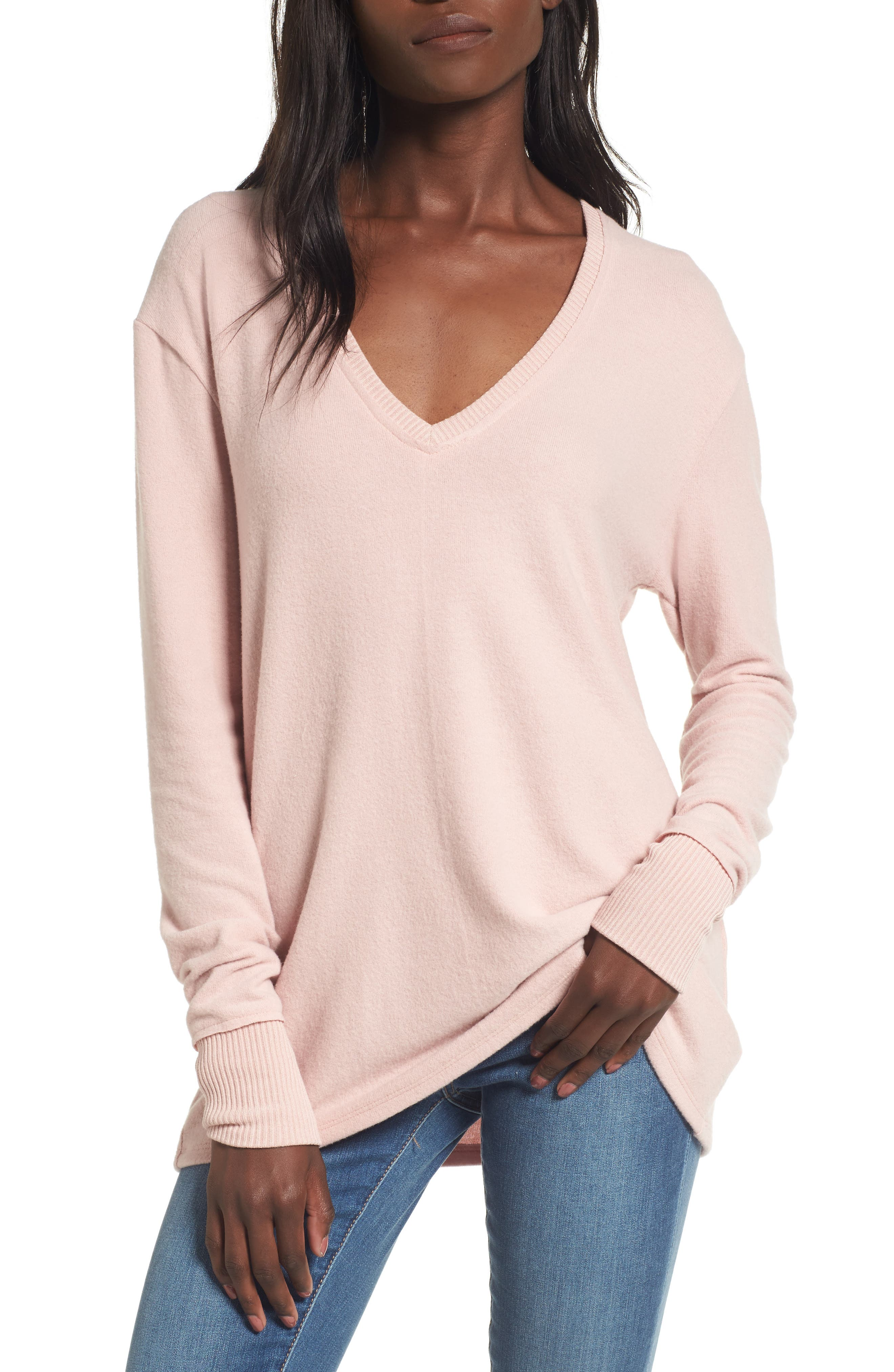 V-Neck Pullover,                             Main thumbnail 9, color,