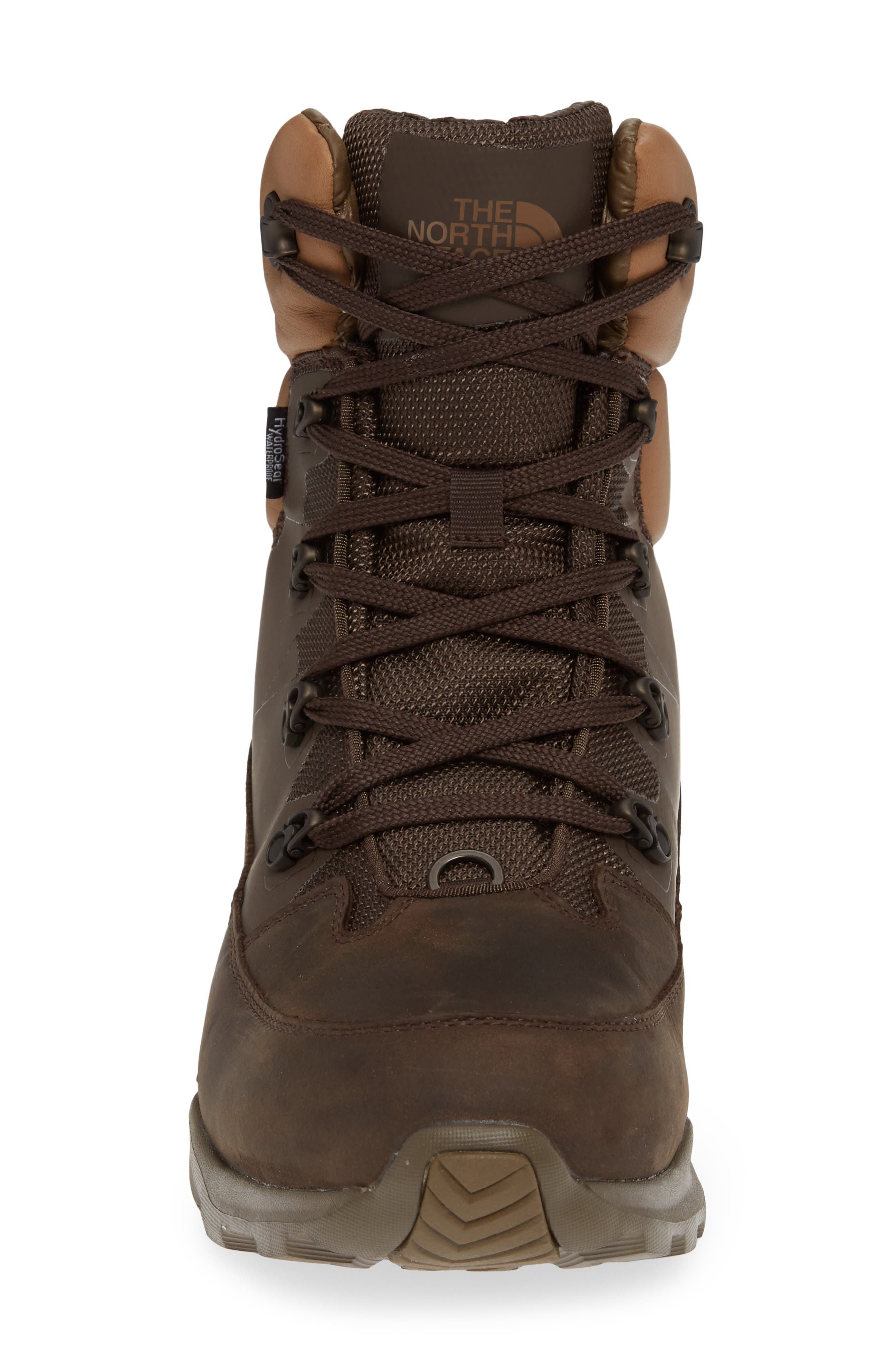 THE NORTH FACE,                             ThermoBall Lifty Snow Waterproof Boot,                             Alternate thumbnail 4, color,                             CHOCOLATE BROWN/ CARGO KHAKI
