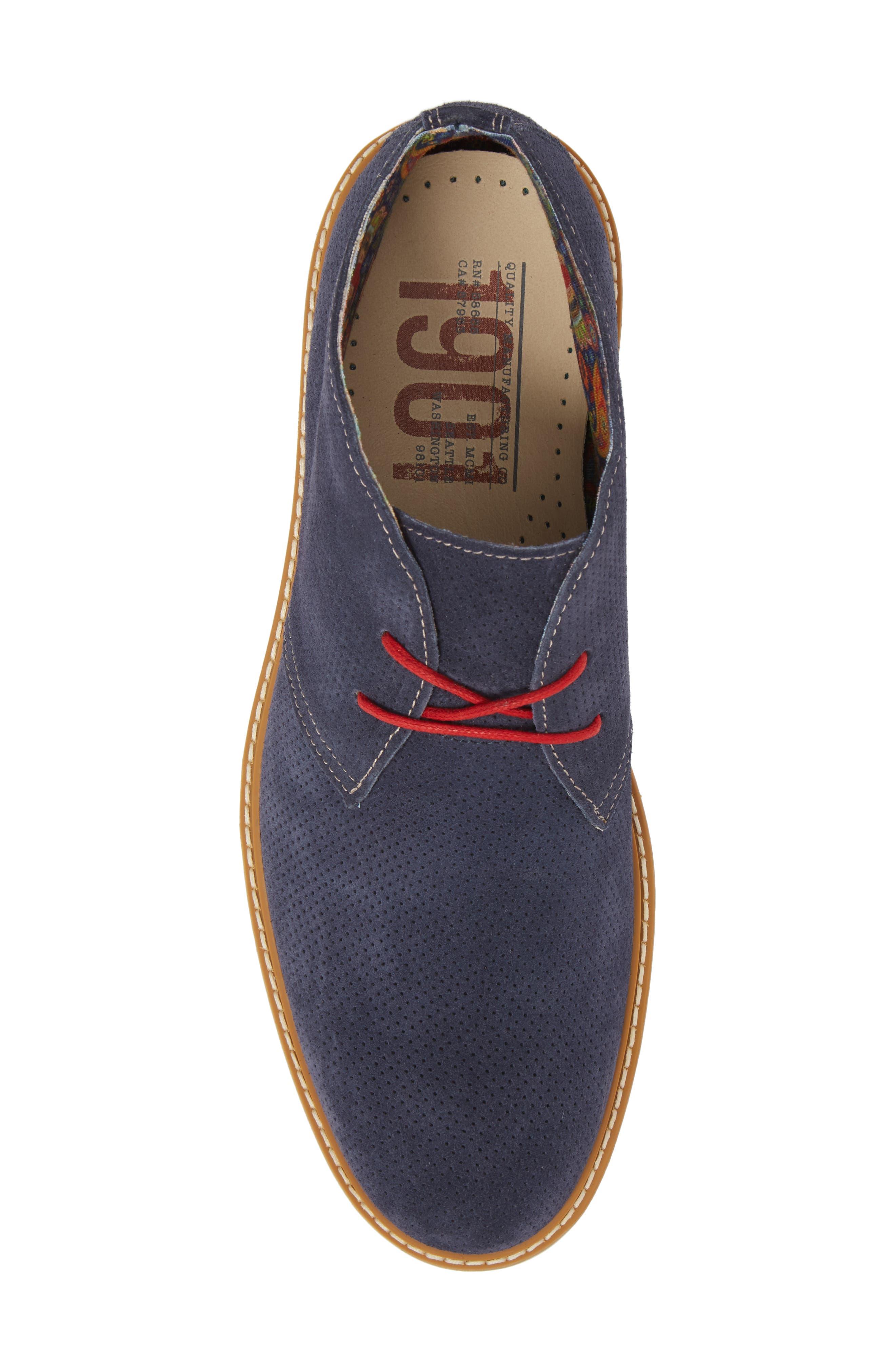 Bayside Perforated Chukka Boot,                             Alternate thumbnail 10, color,