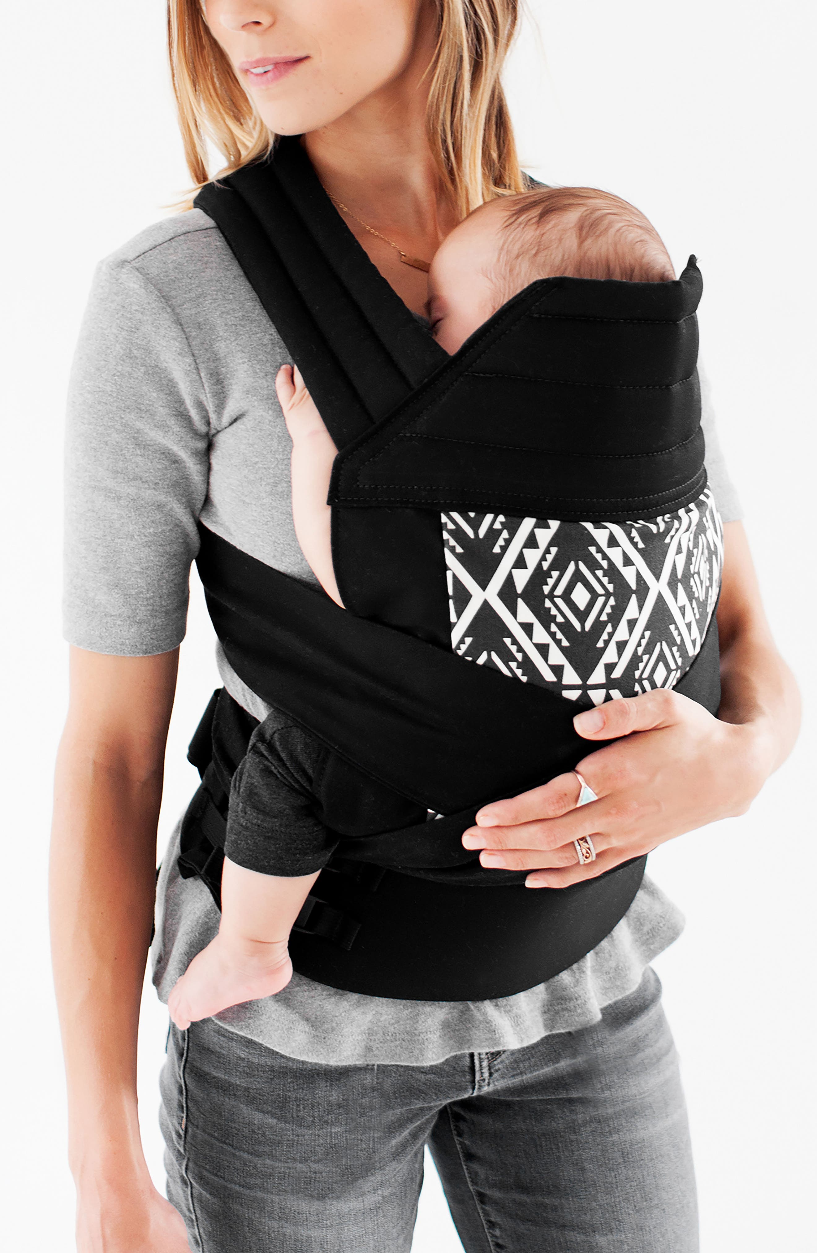 Wrap Buckle Baby Carrier,                             Main thumbnail 1, color,                             001