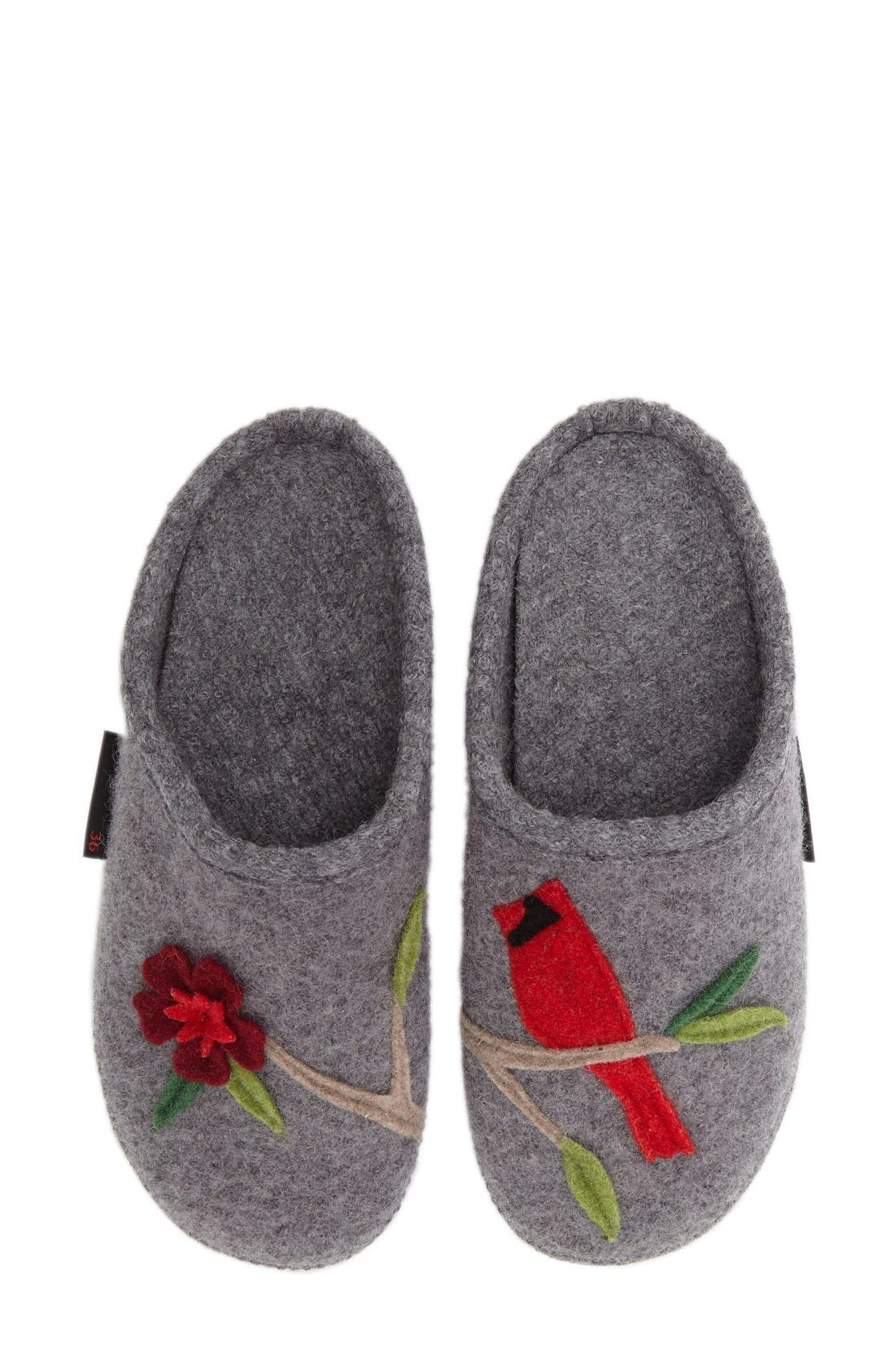 'Angela' Wool Slipper,                             Alternate thumbnail 11, color,