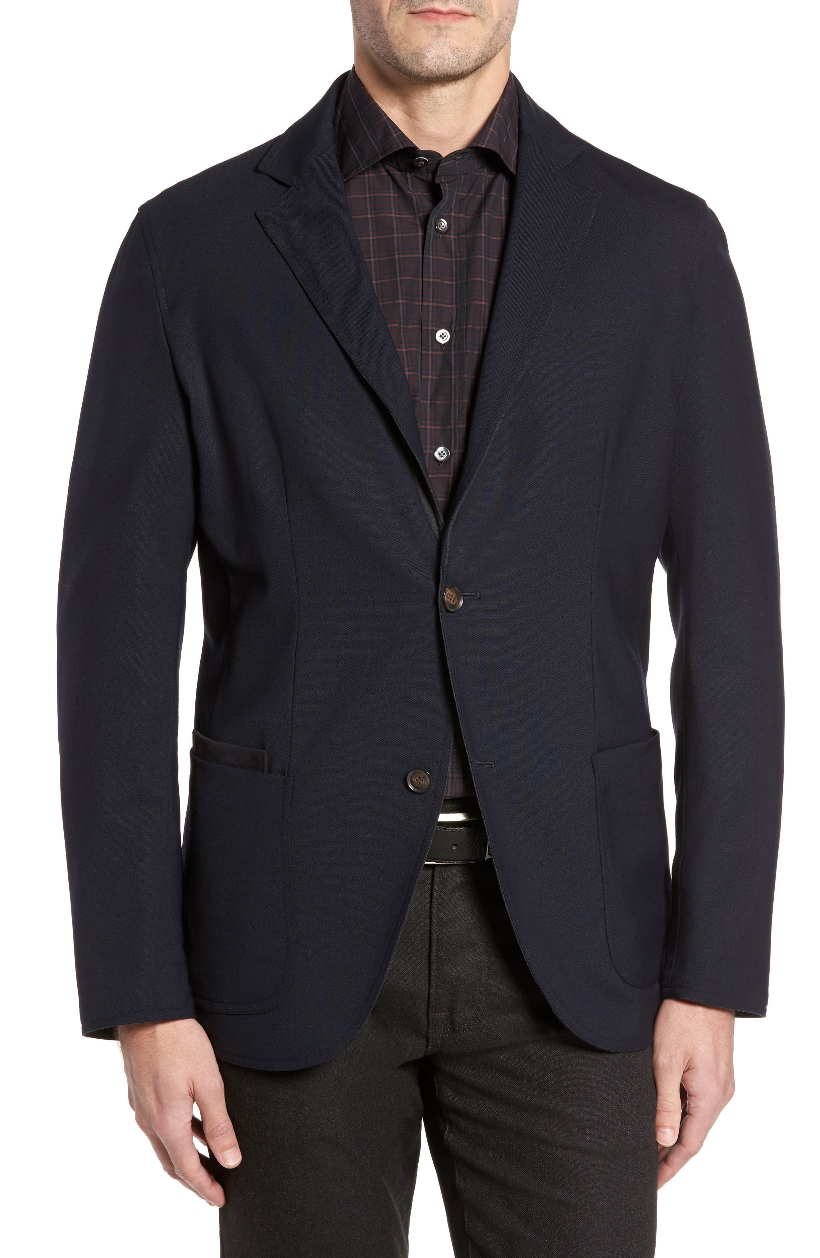 Reversible Travel Classic Blazer,                         Main,                         color, 020
