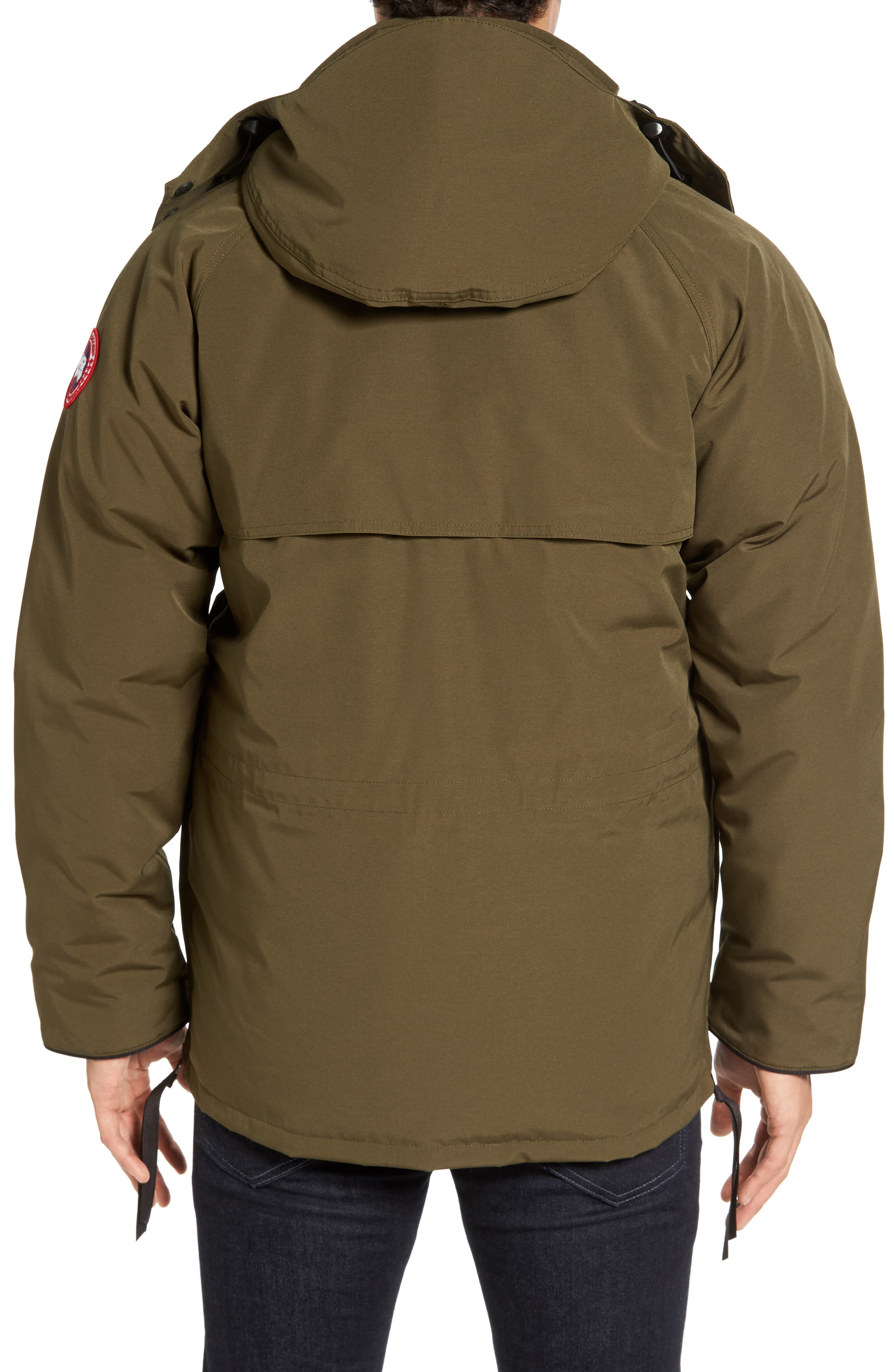 'Constable' Regular Fit Water Resistant Down Parka,                             Alternate thumbnail 7, color,