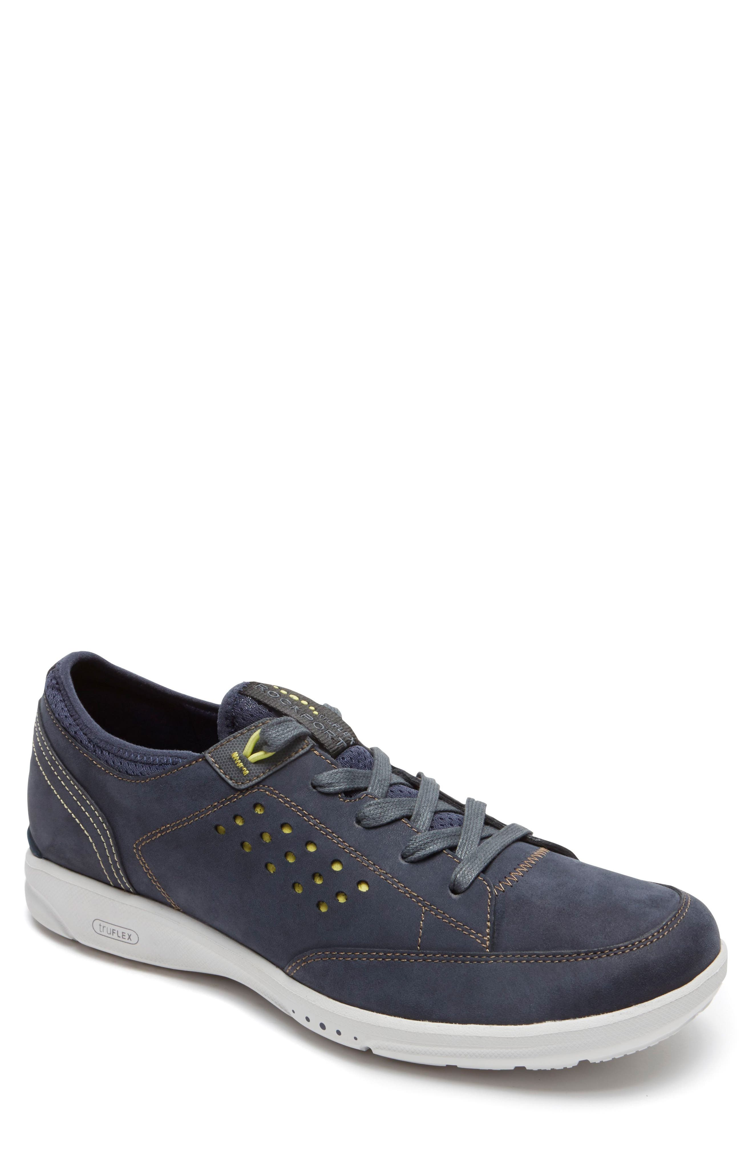Truflex Sneaker,                         Main,                         color, NEW DRESS BLUES NUBUCK