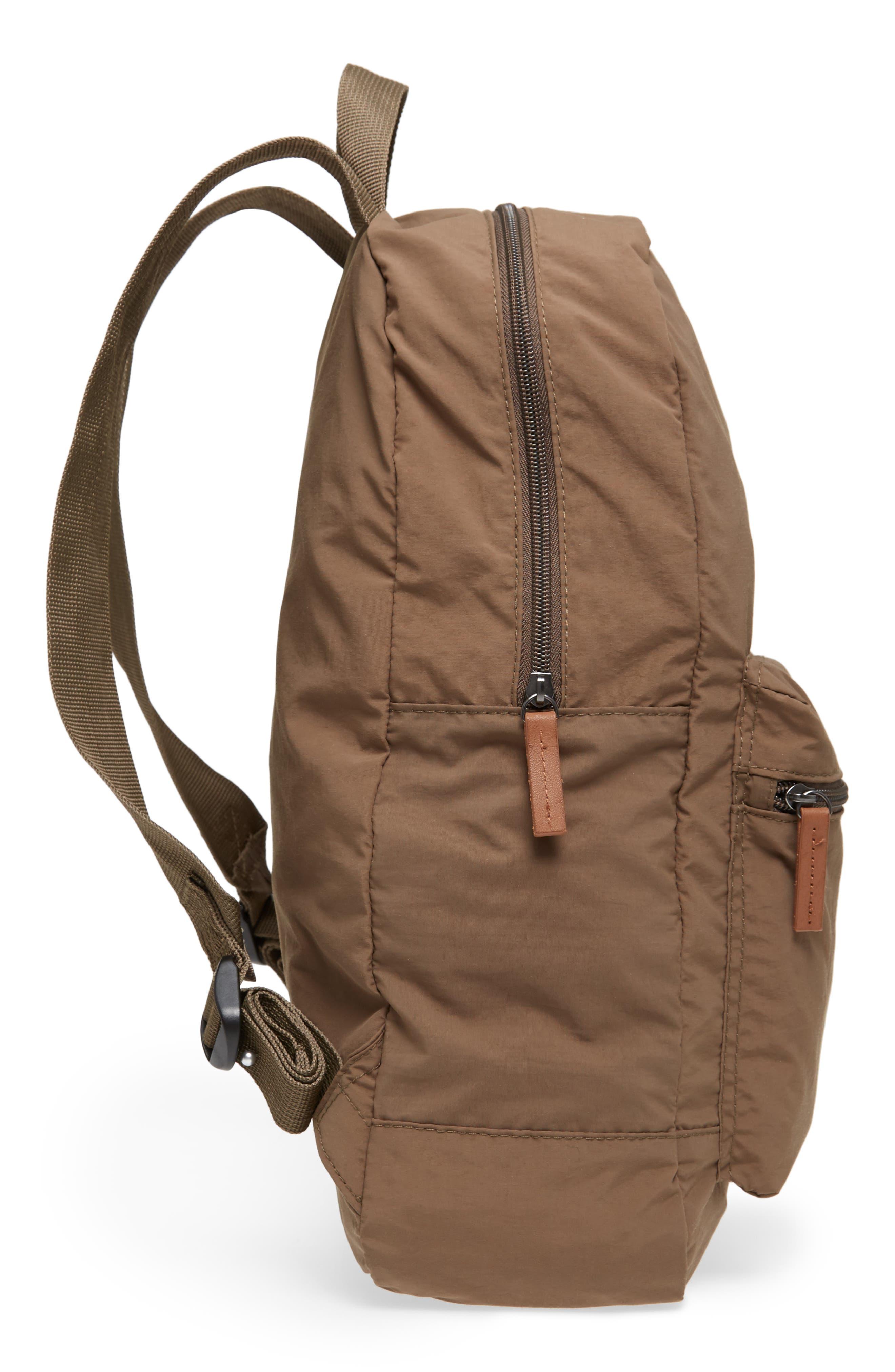 Beauly Packable Backpack,                             Alternate thumbnail 5, color,                             KHAKI