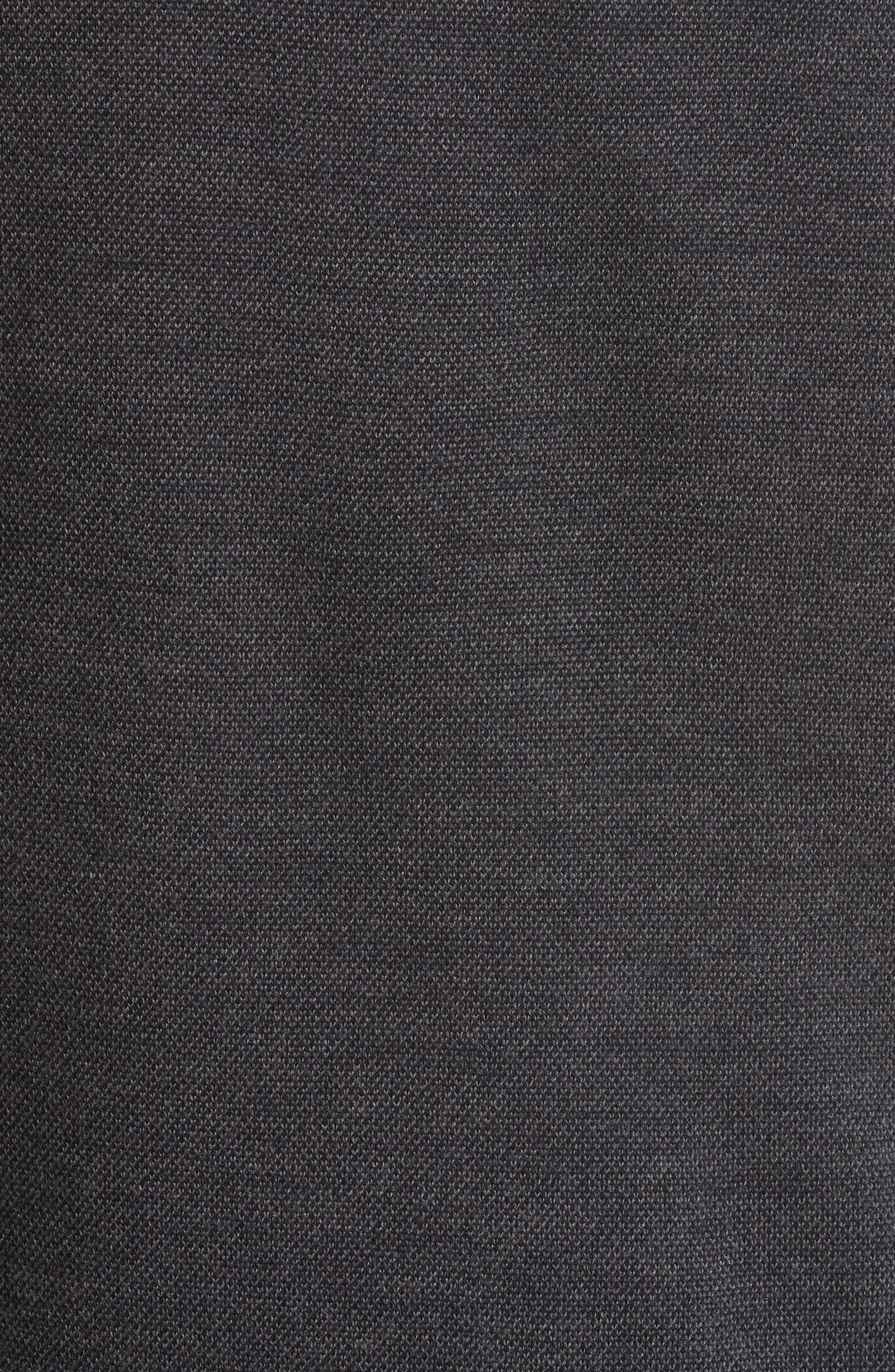 Regular Fit Wool Sweater,                             Alternate thumbnail 5, color,                             020