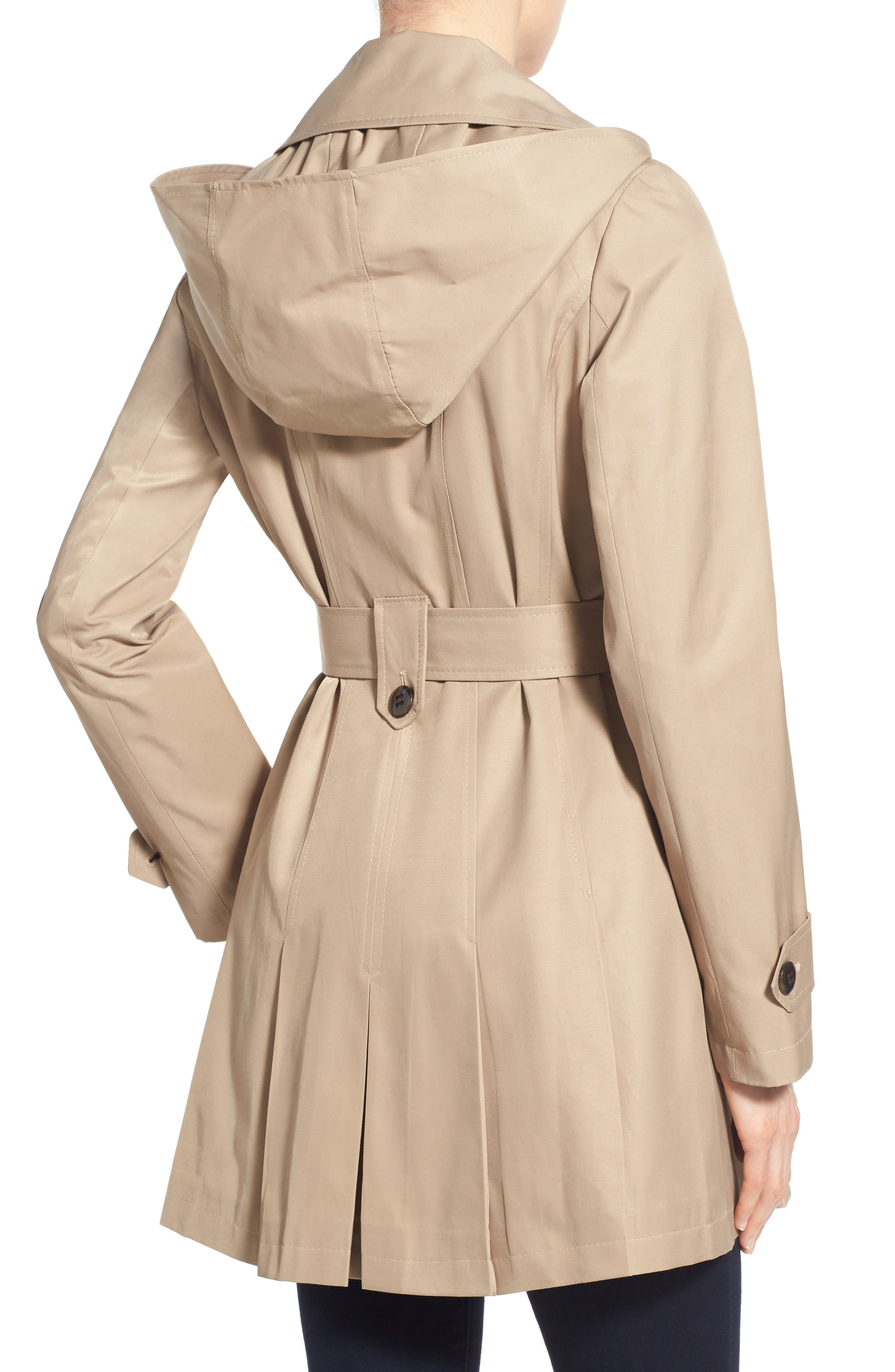 'Scarpa' Hooded Single Breasted Trench Coat,                             Alternate thumbnail 20, color,