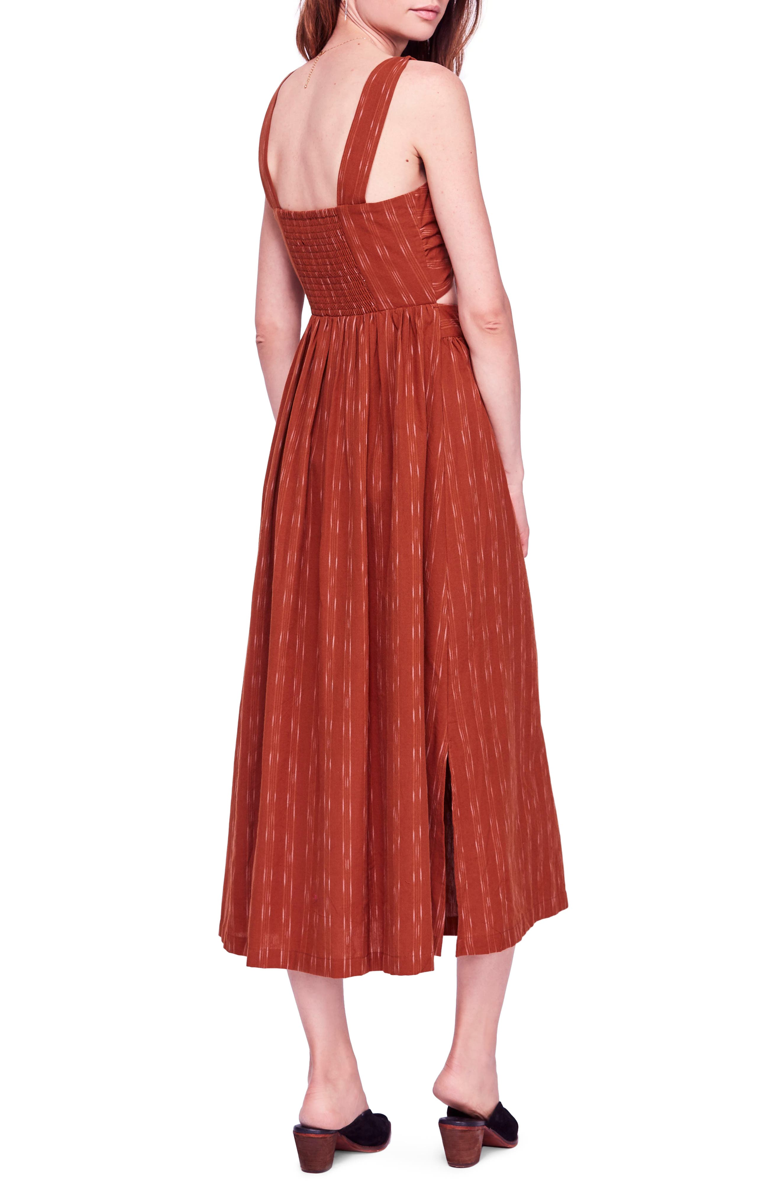 Caldasi Midi Dress,                             Alternate thumbnail 2, color,                             205