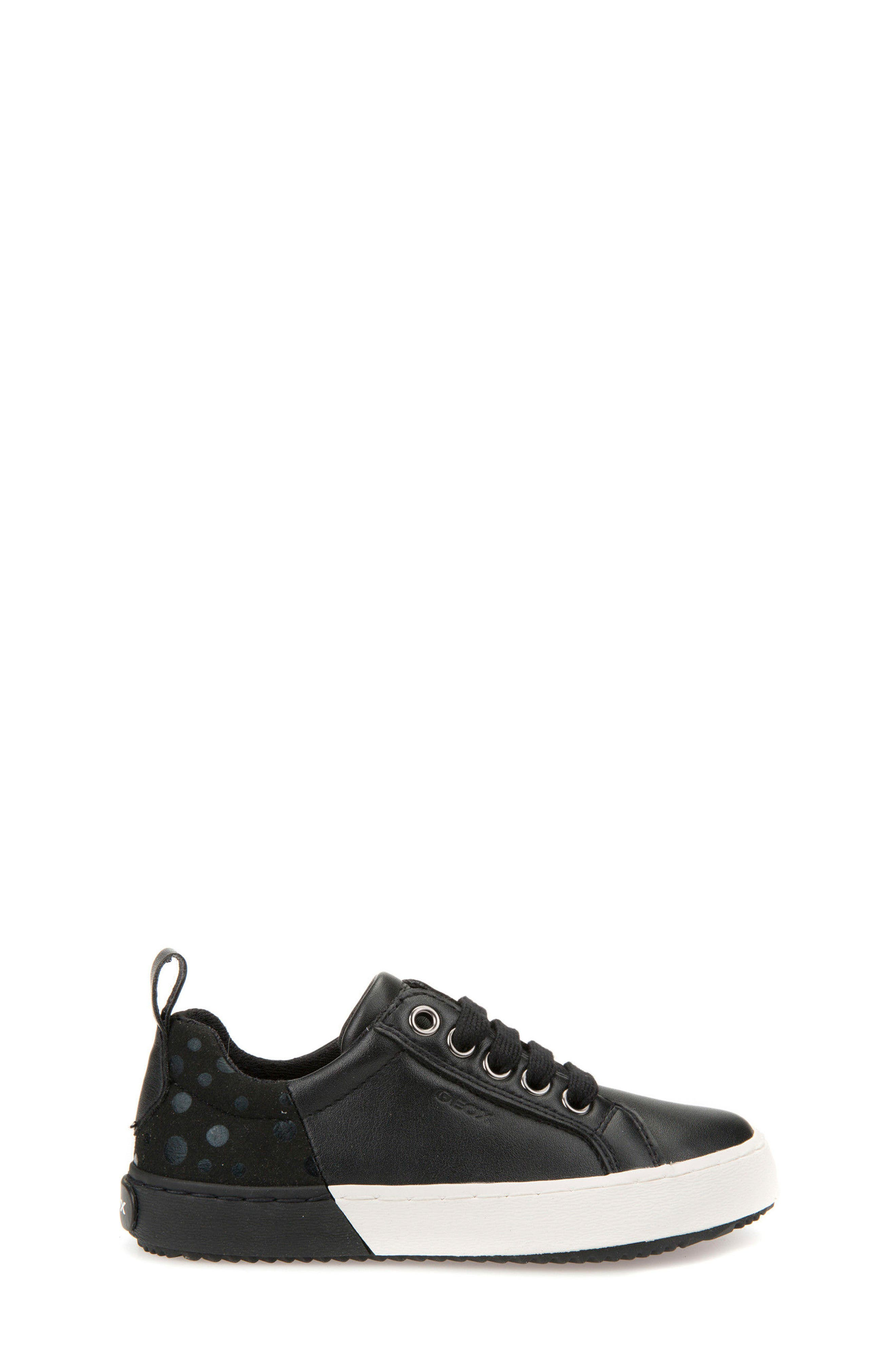Kalispera Girl Dotted Low-Top Sneaker,                             Alternate thumbnail 3, color,                             001
