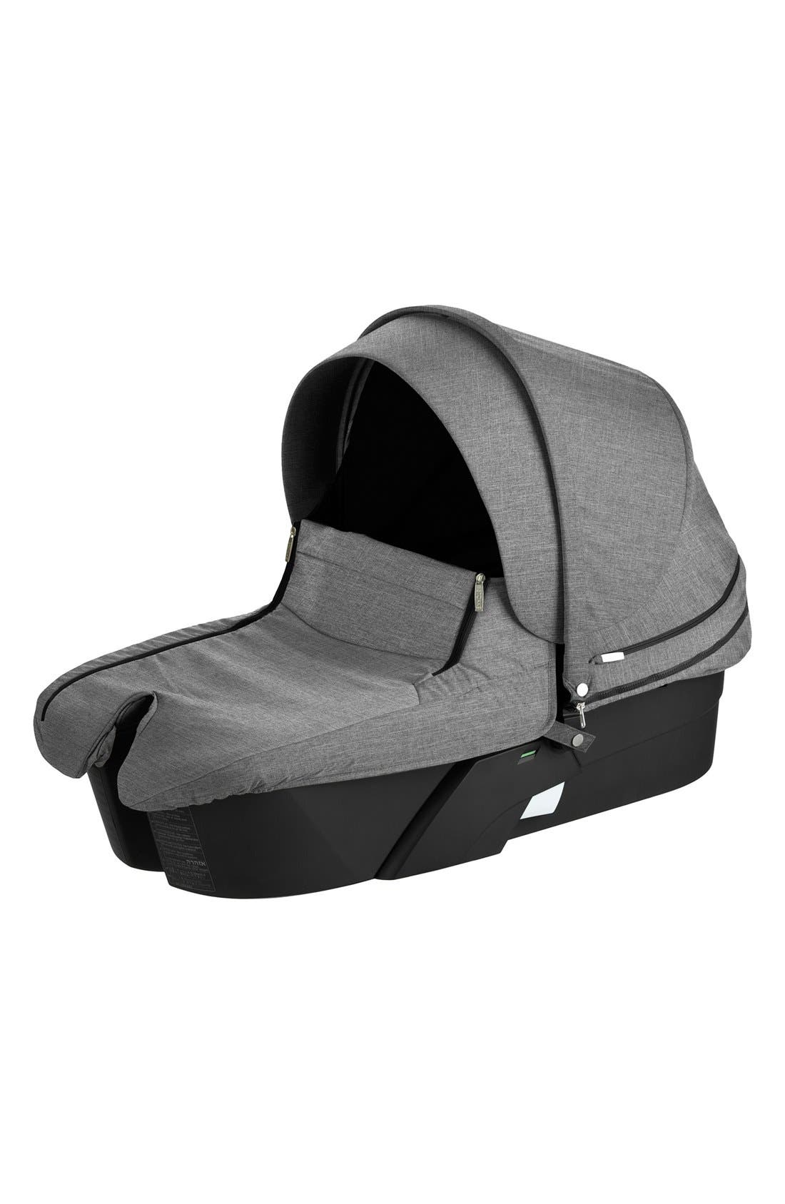 Xplory<sup>®</sup> Stroller Carry Cot,                             Main thumbnail 1, color,                             BLACK