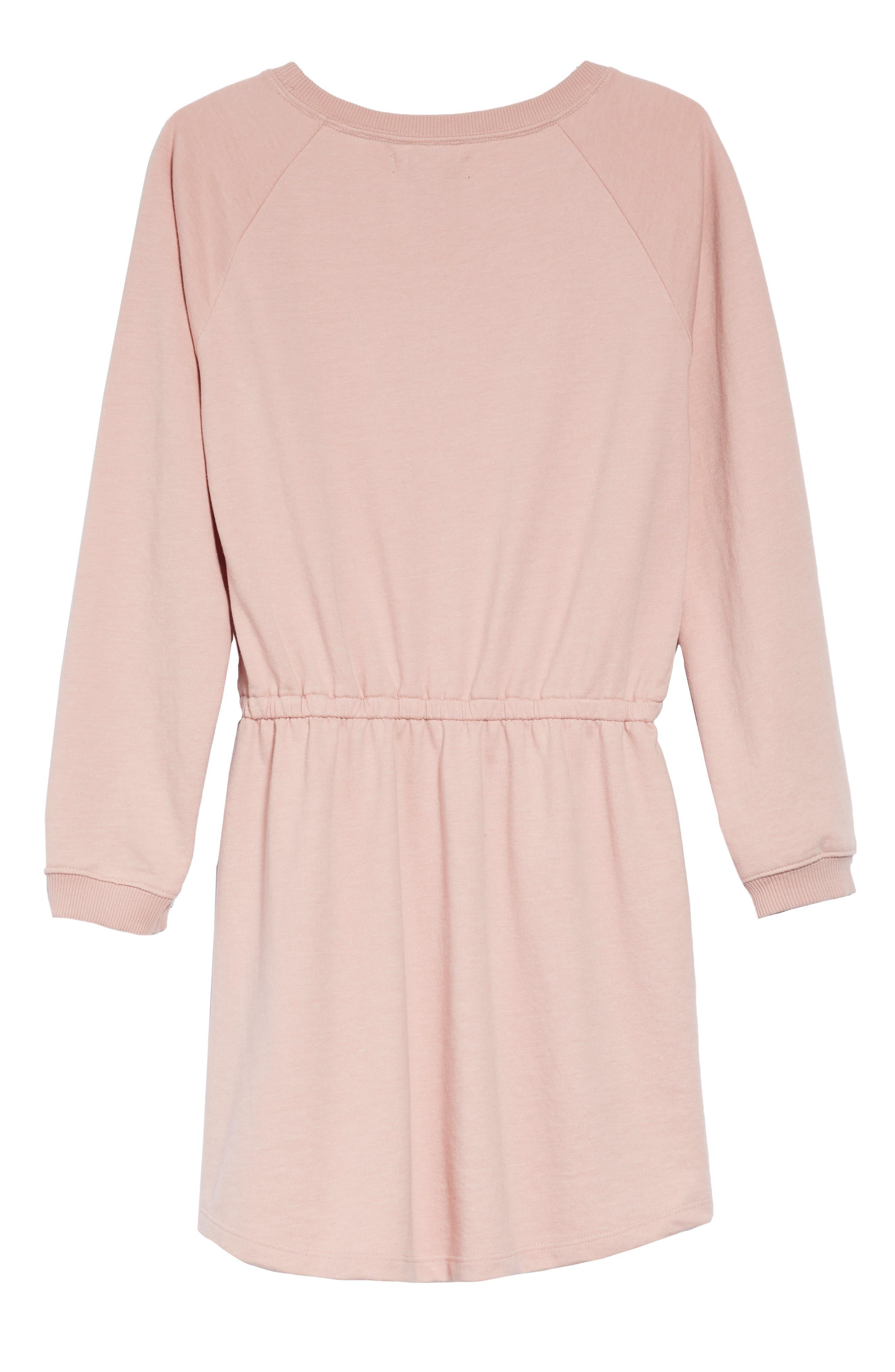 Hello Tassel Dress,                             Alternate thumbnail 2, color,                             PINK