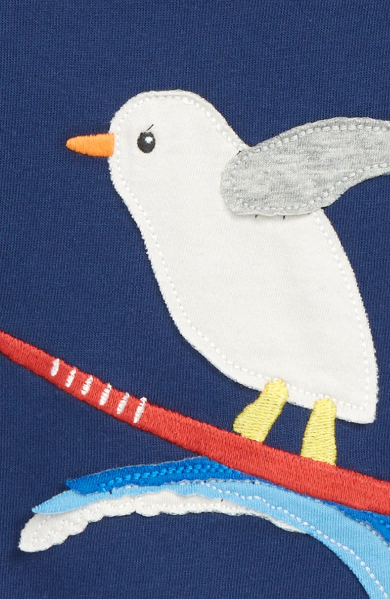 Animal Appliqué T-Shirt,                             Alternate thumbnail 3, color,