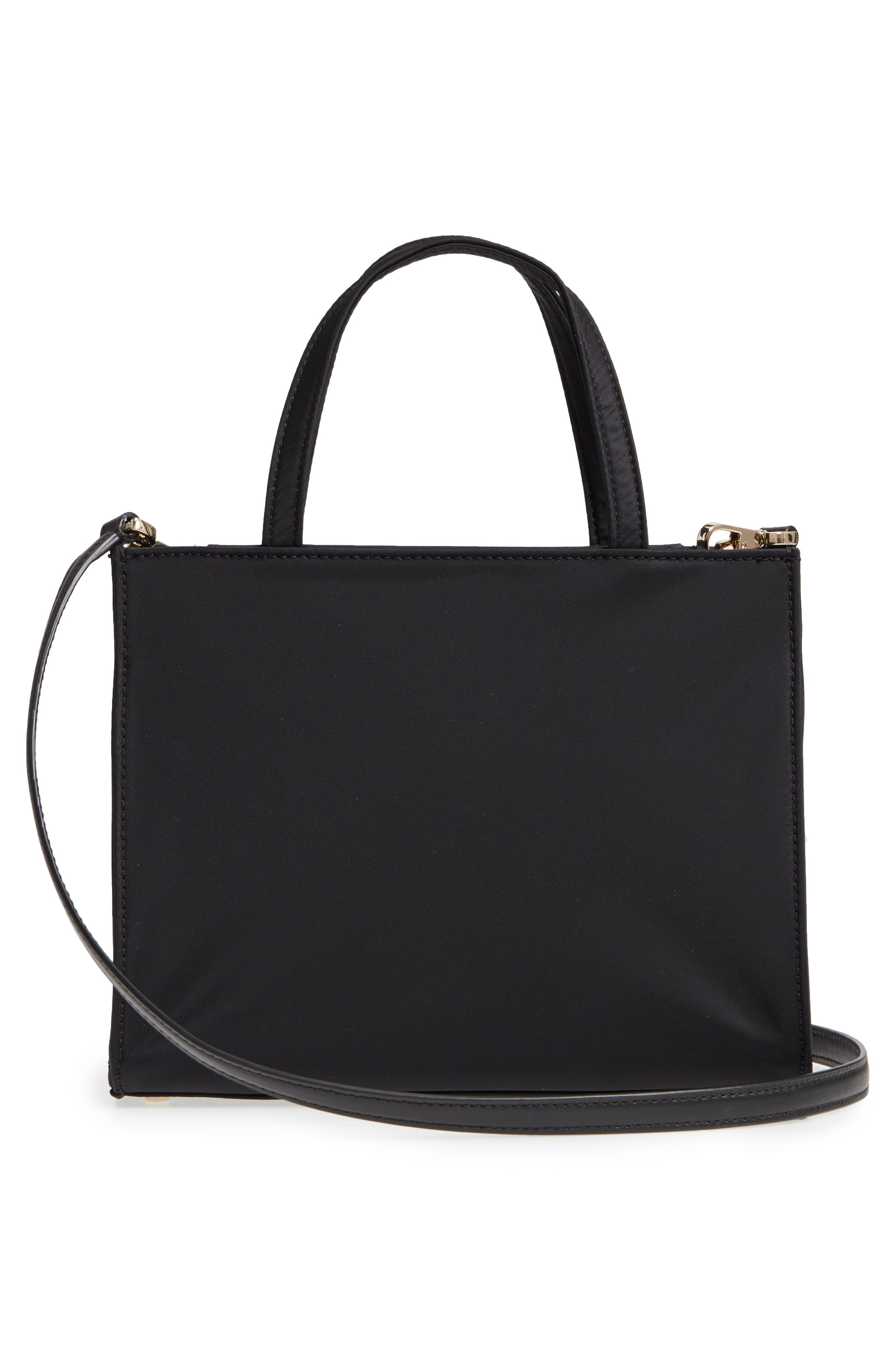 watson lane – sam nylon satchel,                             Alternate thumbnail 3, color,                             BLACK