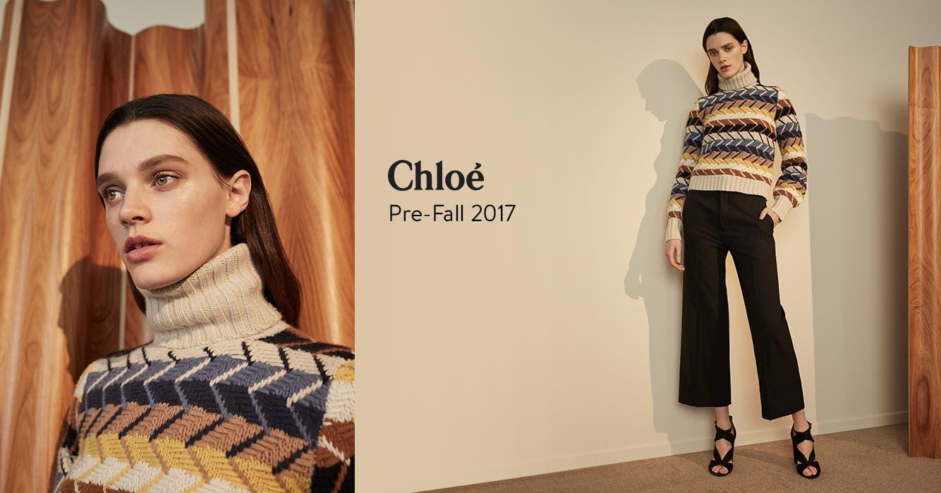 Chloé Pre-Fall 2017.