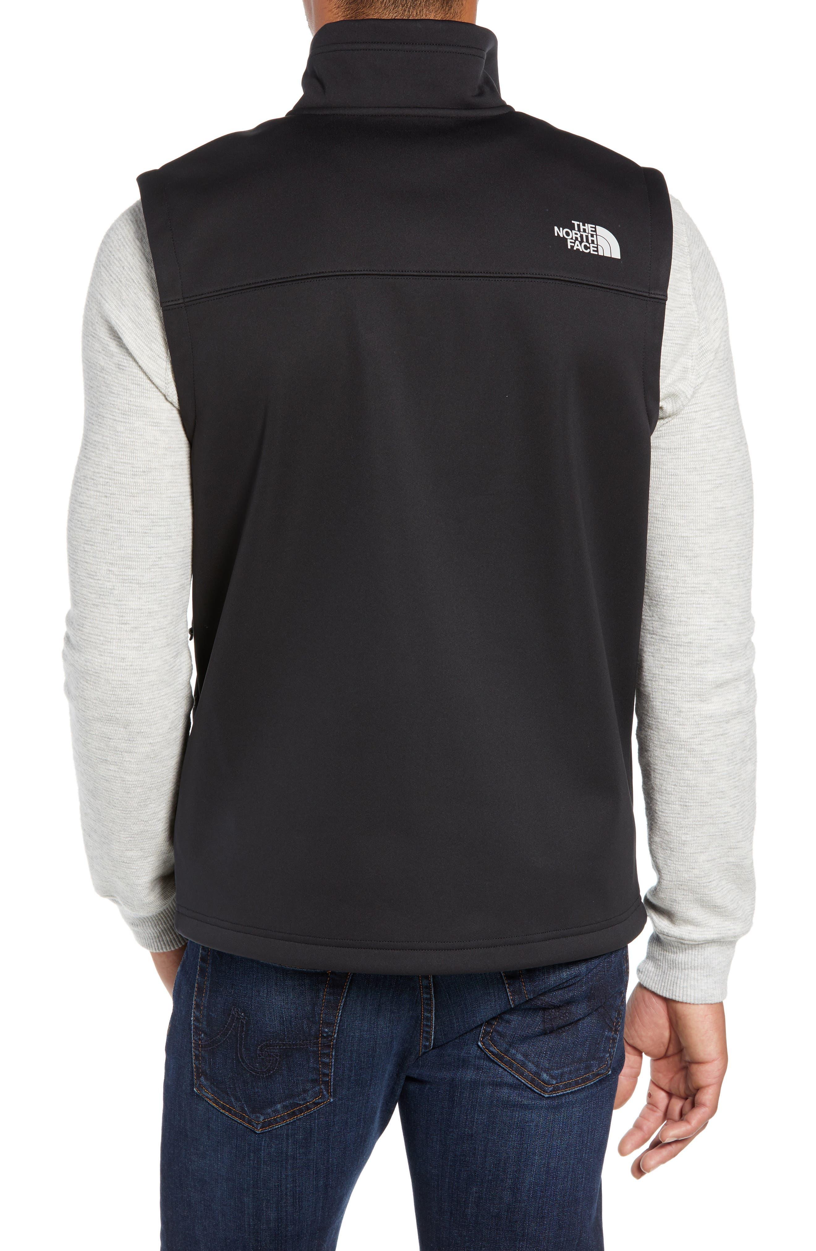 Apex Risor Vest,                             Alternate thumbnail 2, color,                             TNF BLACK/ TNF BLACK
