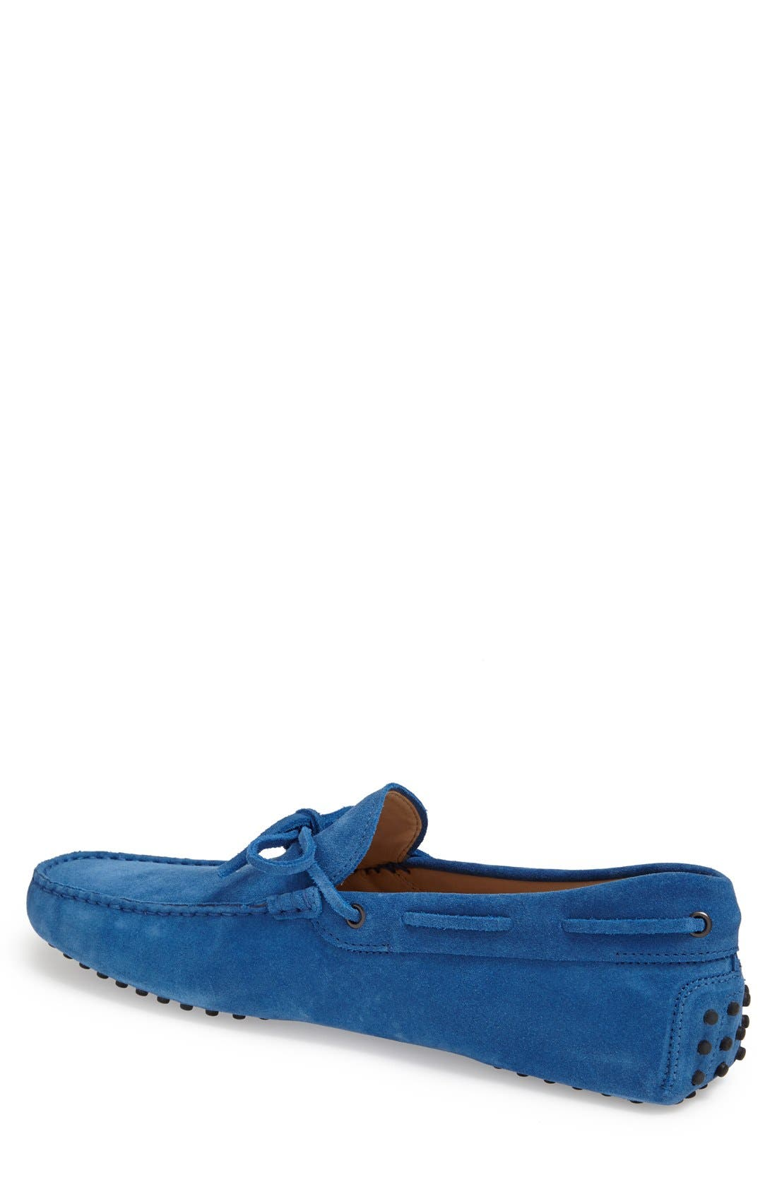 Gommini Tie Front Driving Moccasin,                             Alternate thumbnail 57, color,