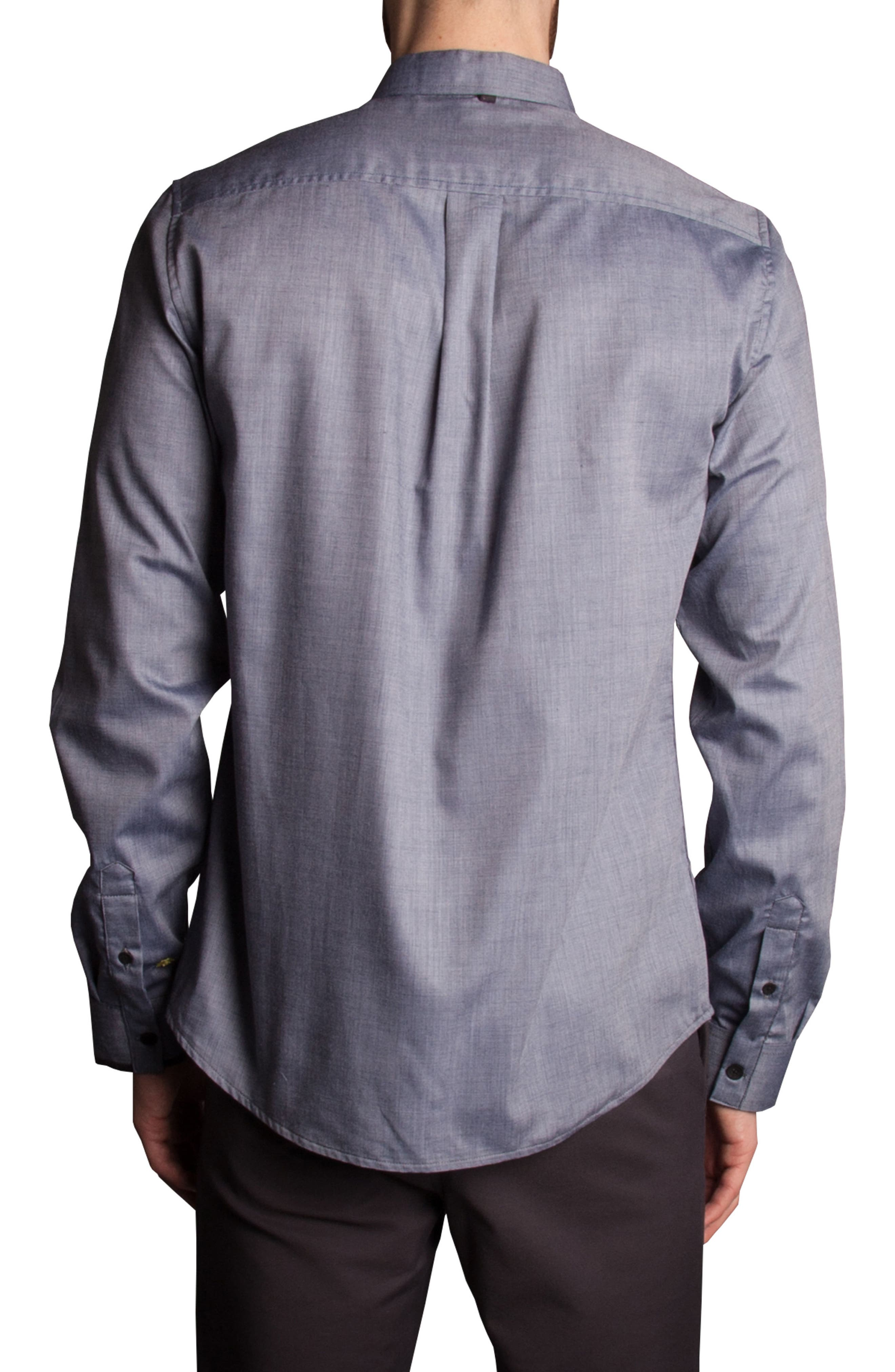 Pinpoint Sport Shirt,                             Alternate thumbnail 2, color,                             400