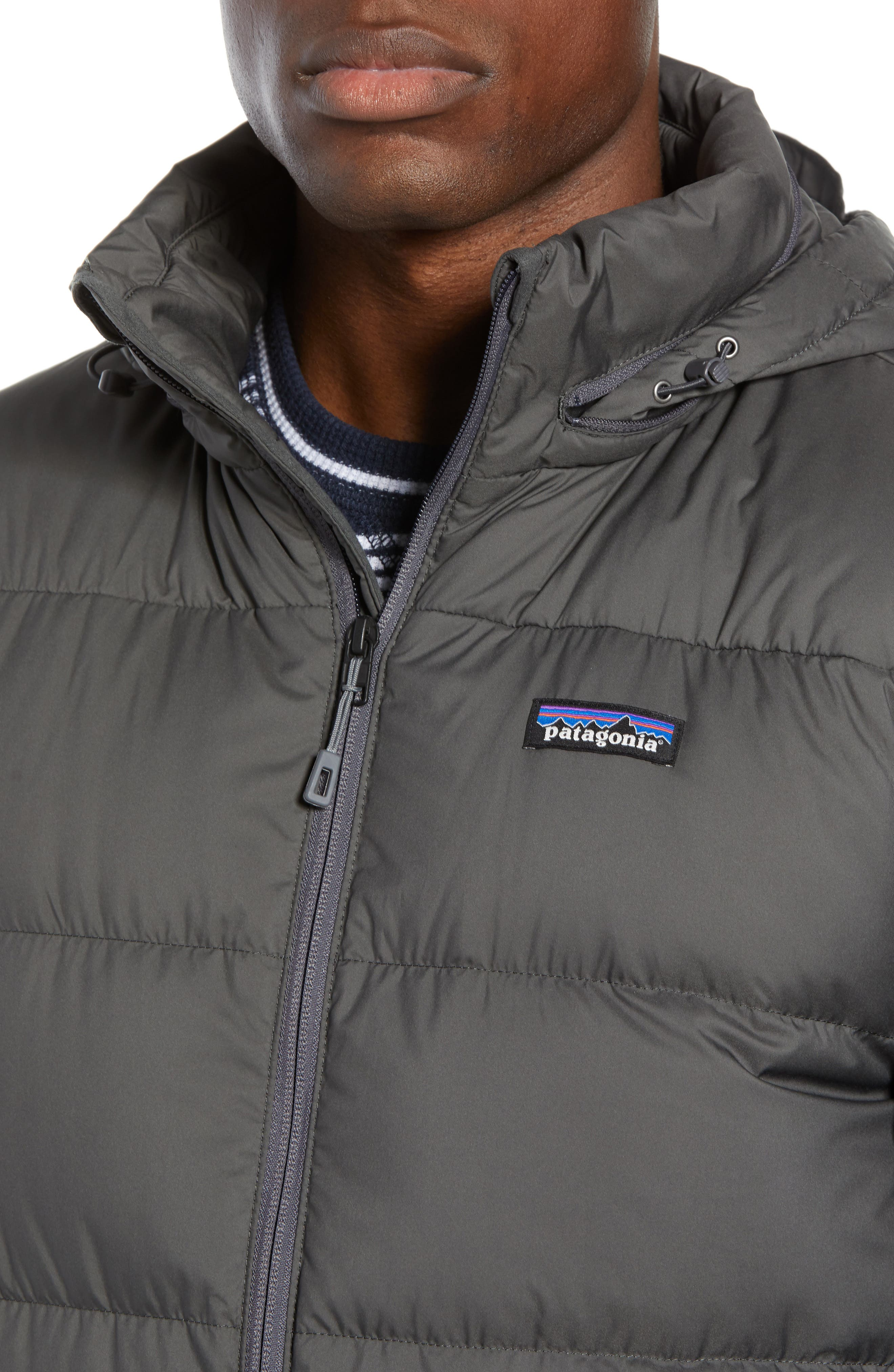Silent Water Repellent 700 Fill Power Down Jacket,                             Alternate thumbnail 4, color,                             020