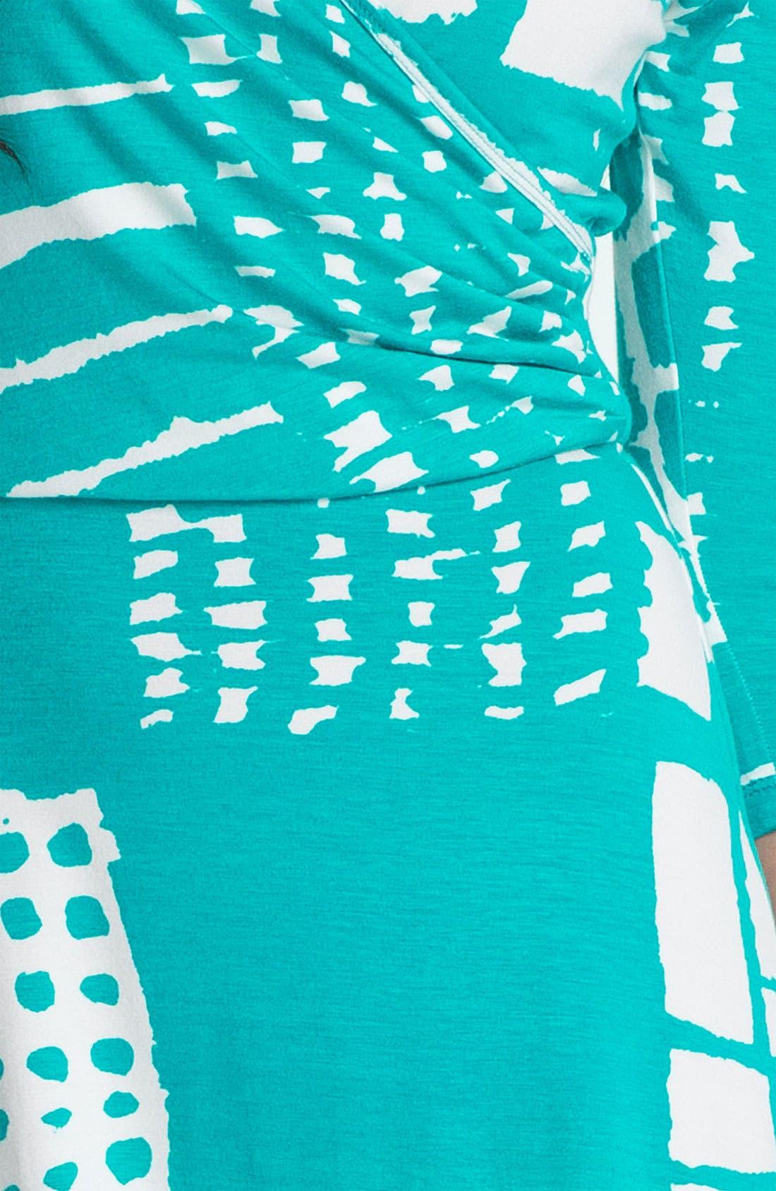 Faux Wrap Dress,                             Alternate thumbnail 2, color,                             400