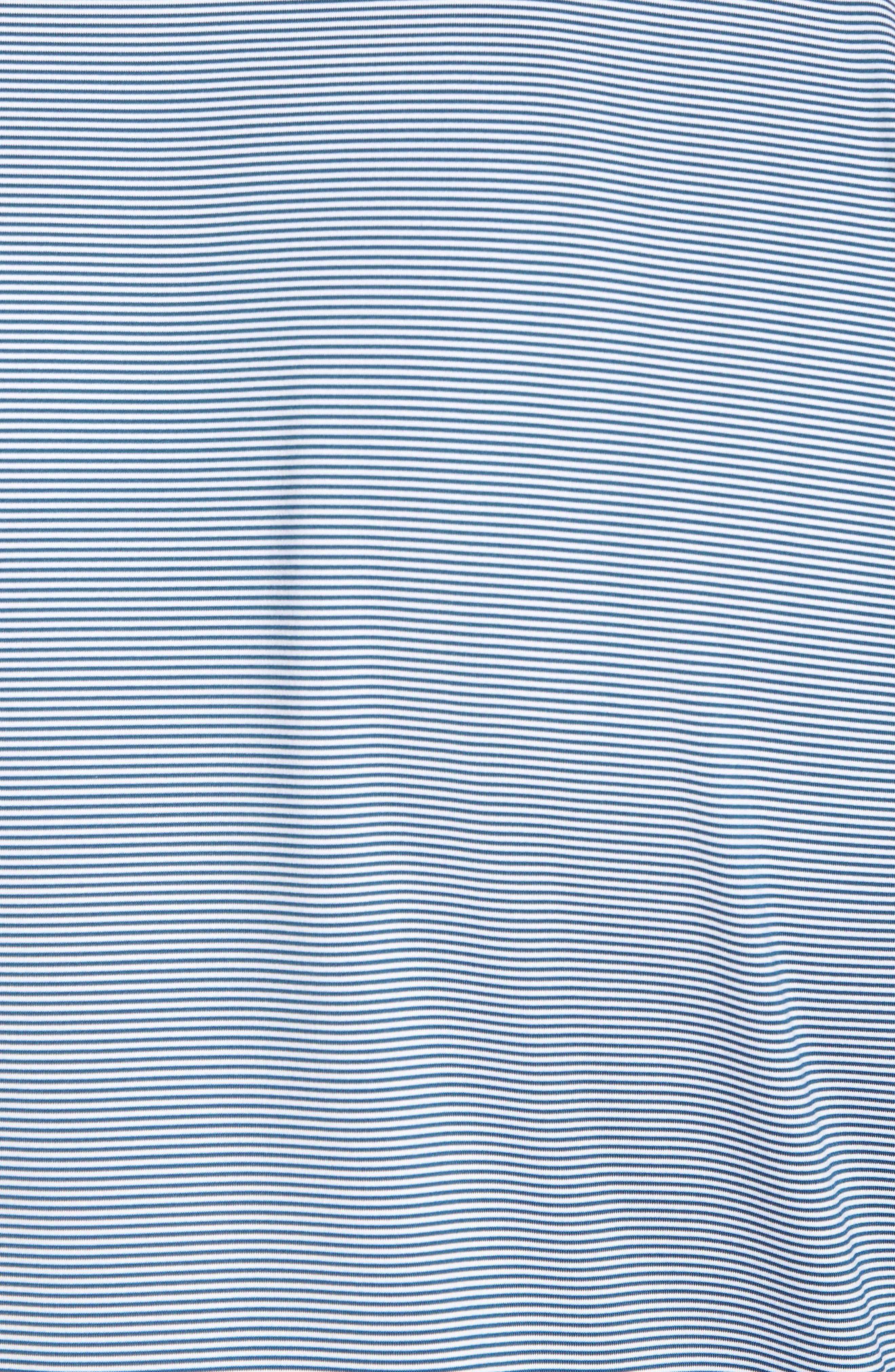 Jubilee Stripe Jersey Polo,                             Alternate thumbnail 5, color,                             MAUI