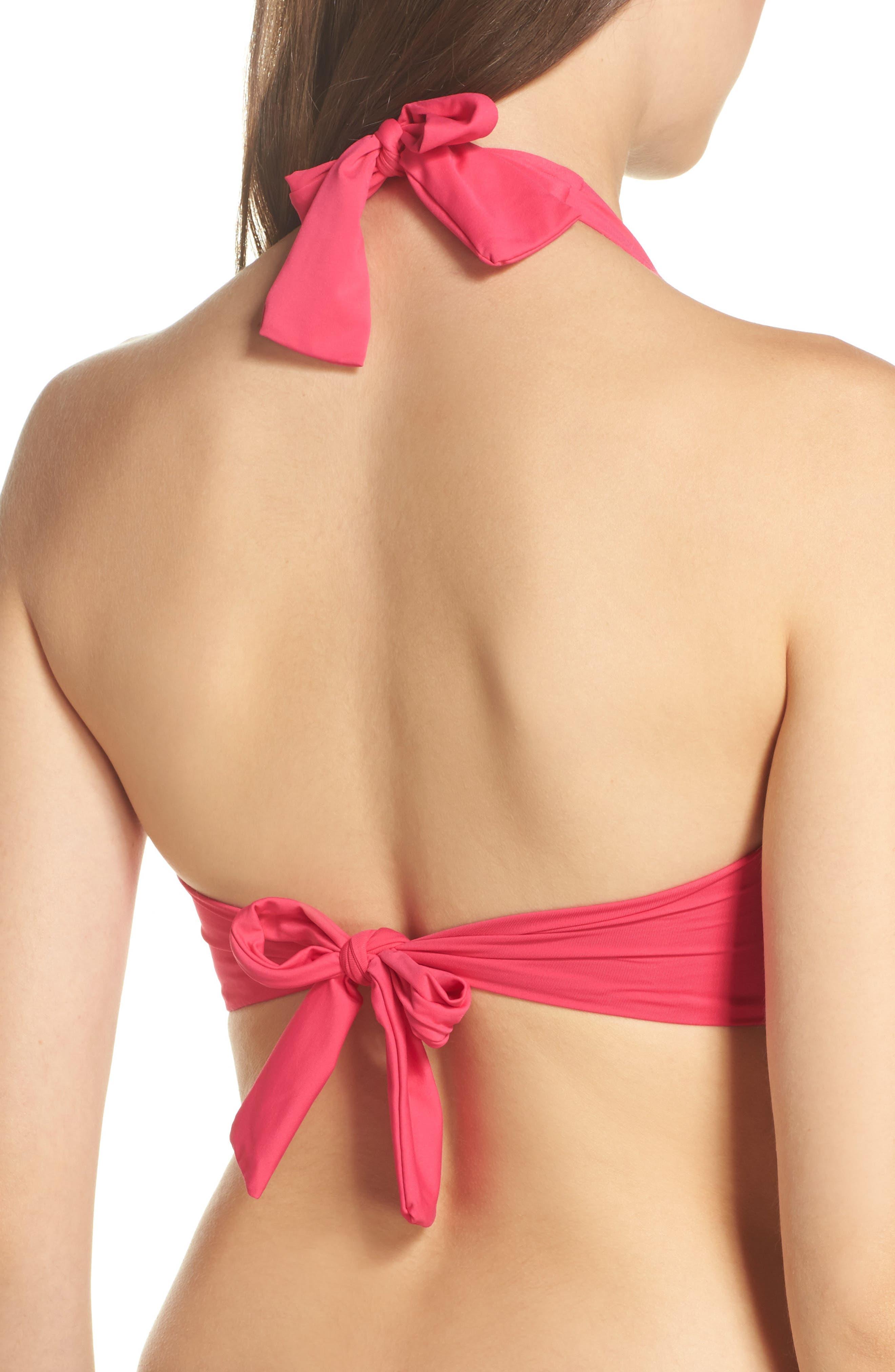 Underwire Bikini Top,                             Alternate thumbnail 6, color,