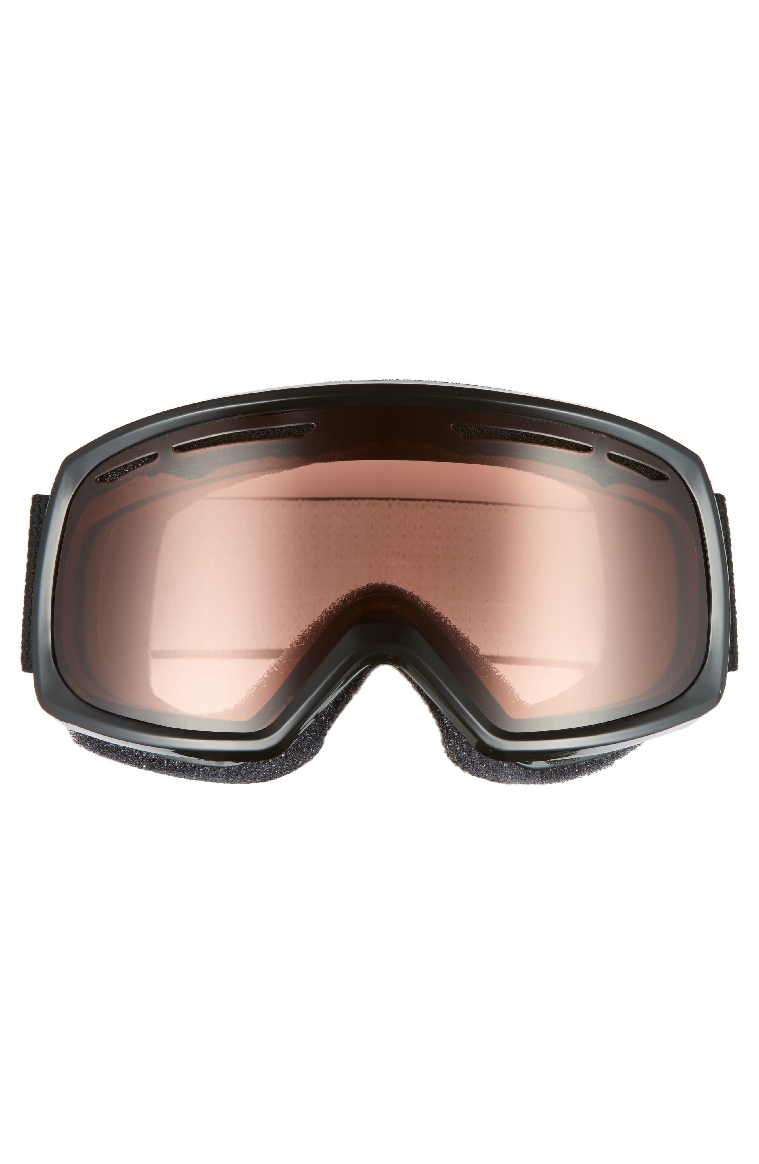 Drift 180mm Snow Goggles,                             Alternate thumbnail 3, color,                             BLACK/ RC36