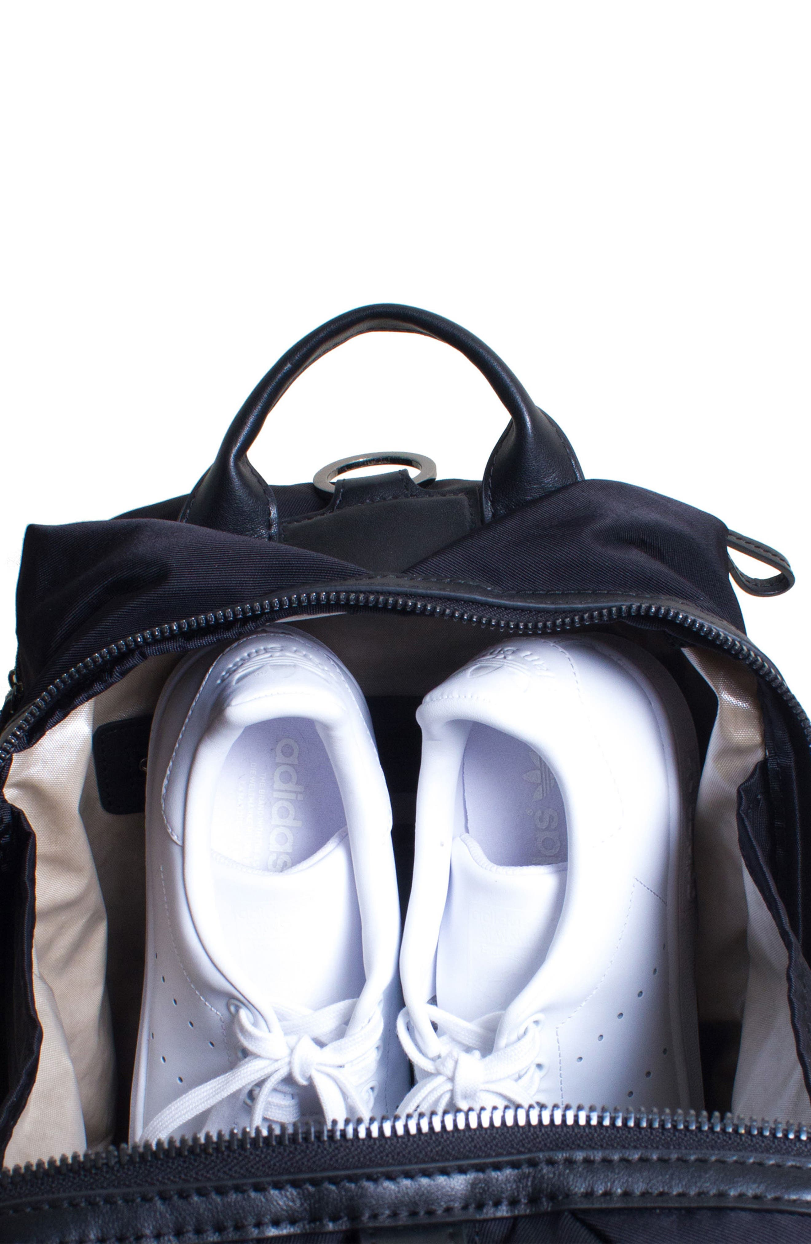 Studio Medium Duffel Backpack,                             Alternate thumbnail 2, color,                             BLACK
