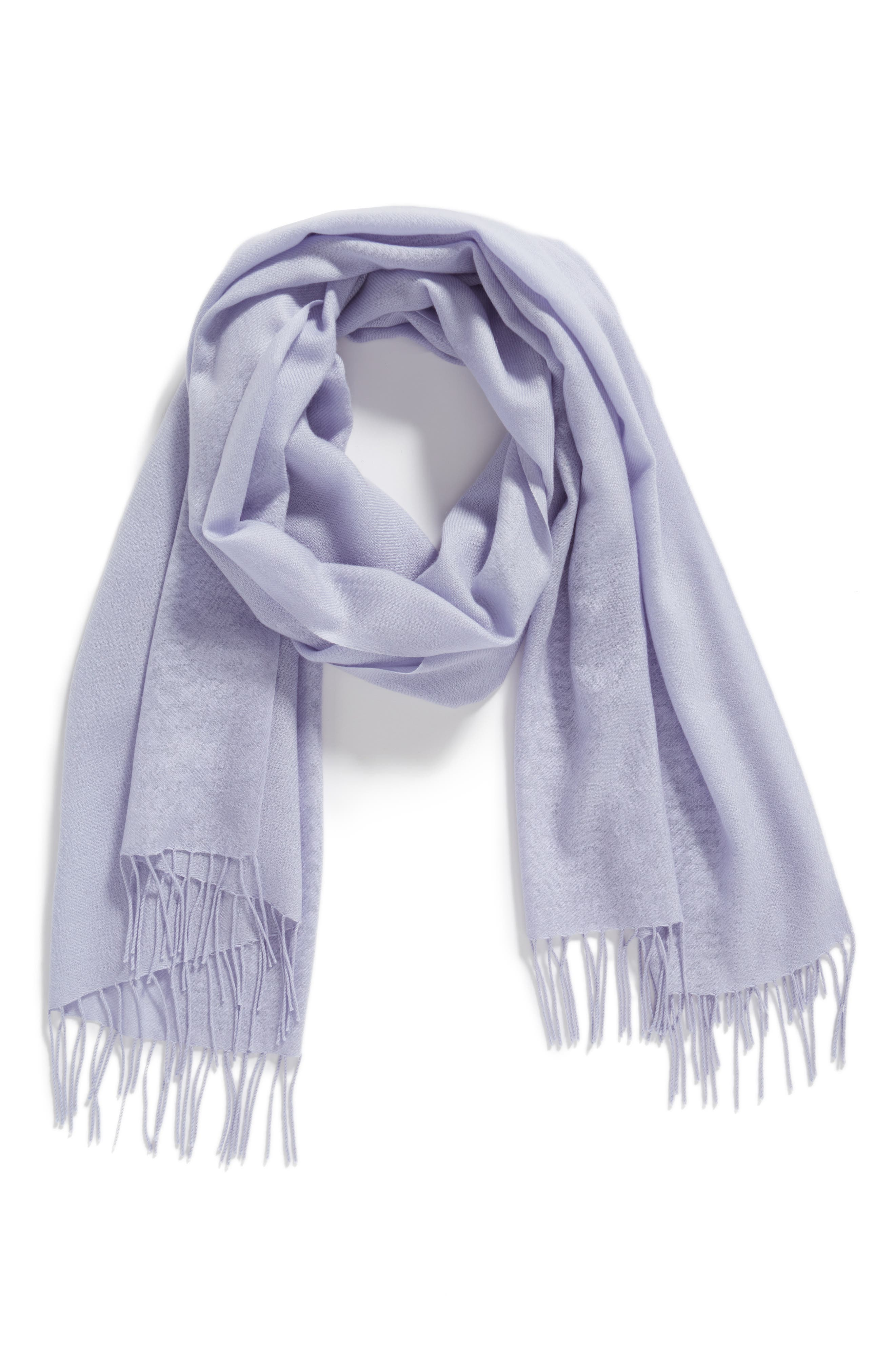 Tissue Weight Wool & Cashmere Scarf,                             Alternate thumbnail 124, color,