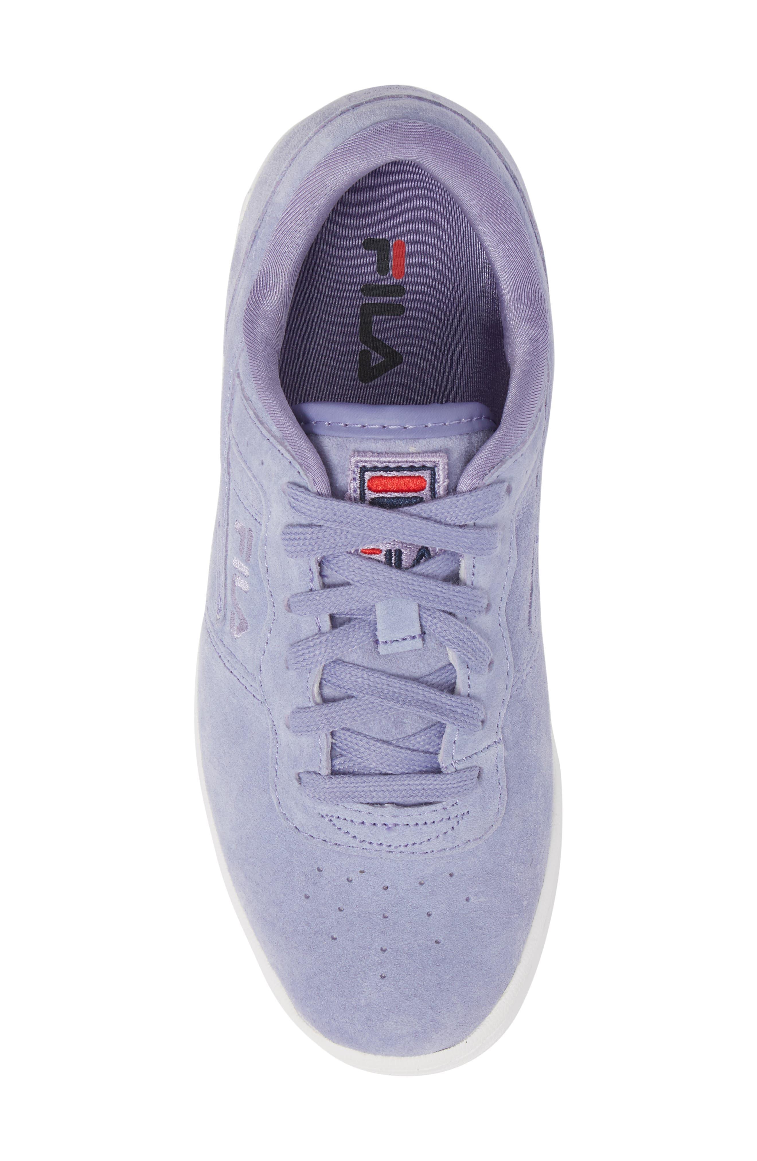 Original Fitness Premium Sneaker,                             Alternate thumbnail 5, color,                             SLAV/ SLAV/ WHT
