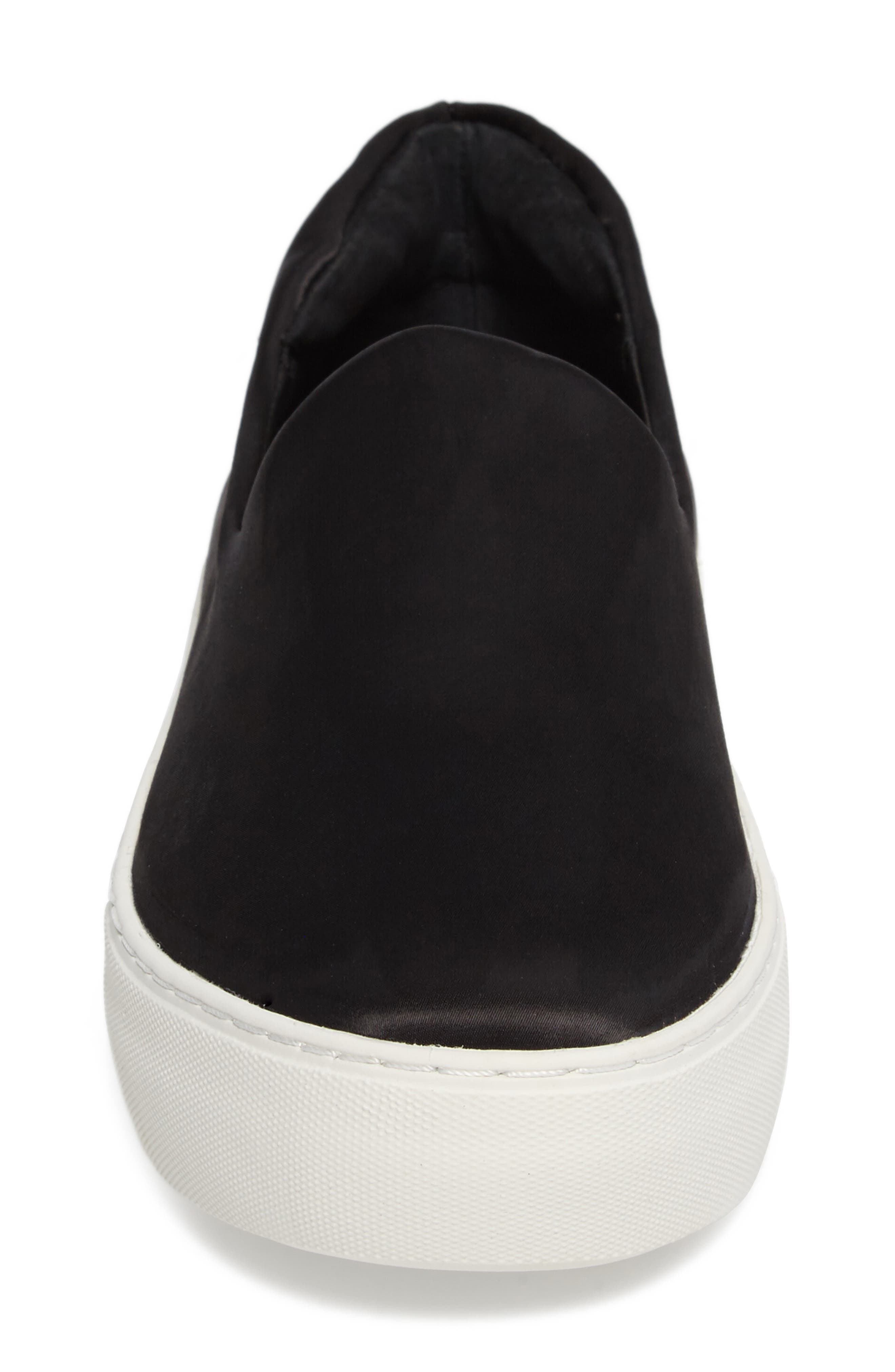 Abba Slip-On Platform Sneaker,                             Alternate thumbnail 4, color,                             001