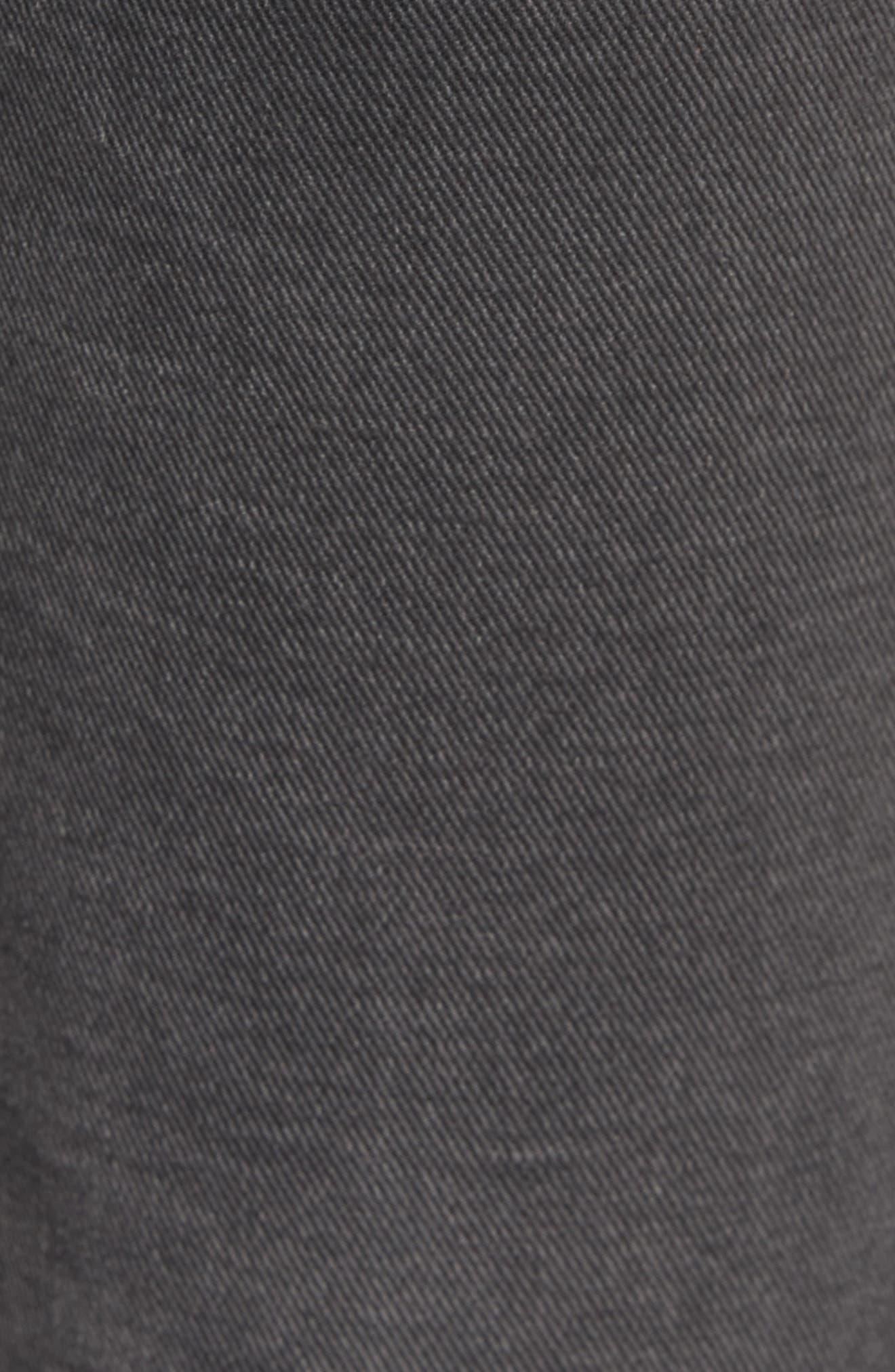 The Kick High Waist Crop Flare Jeans,                             Alternate thumbnail 5, color,                             017
