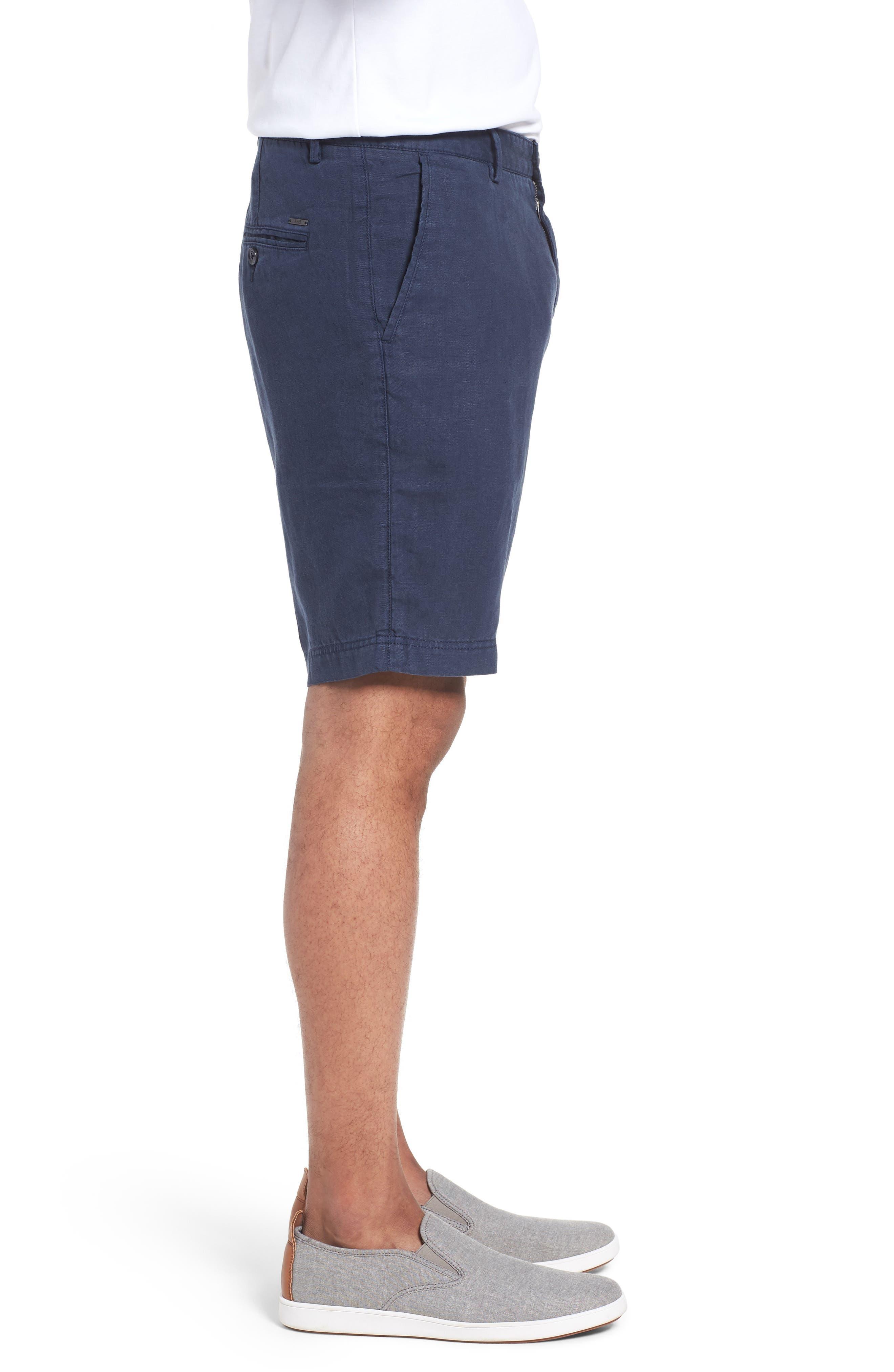 Crigan Linen Shorts,                             Alternate thumbnail 15, color,