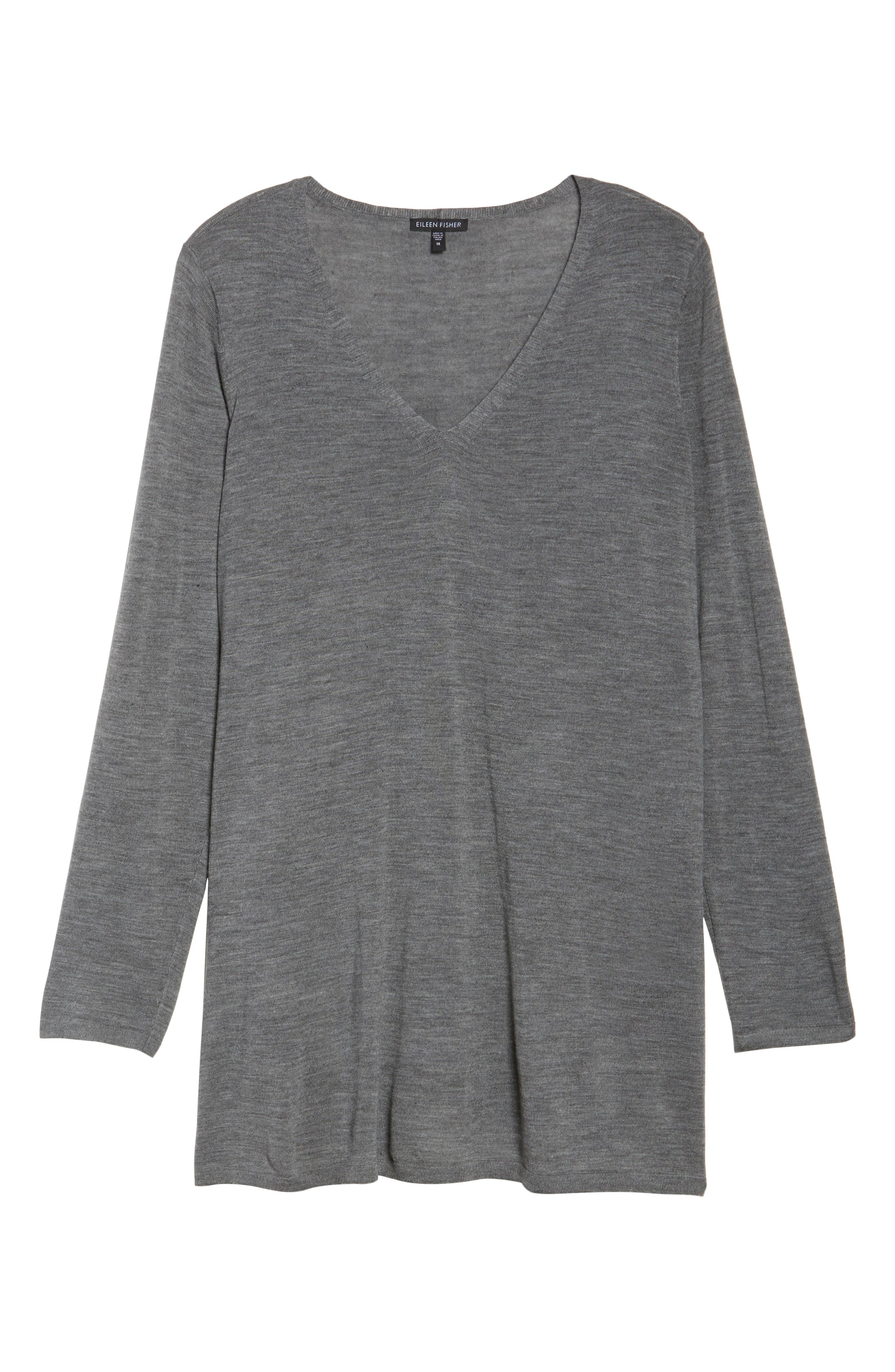 Merino Wool Tunic Sweater,                             Alternate thumbnail 27, color,