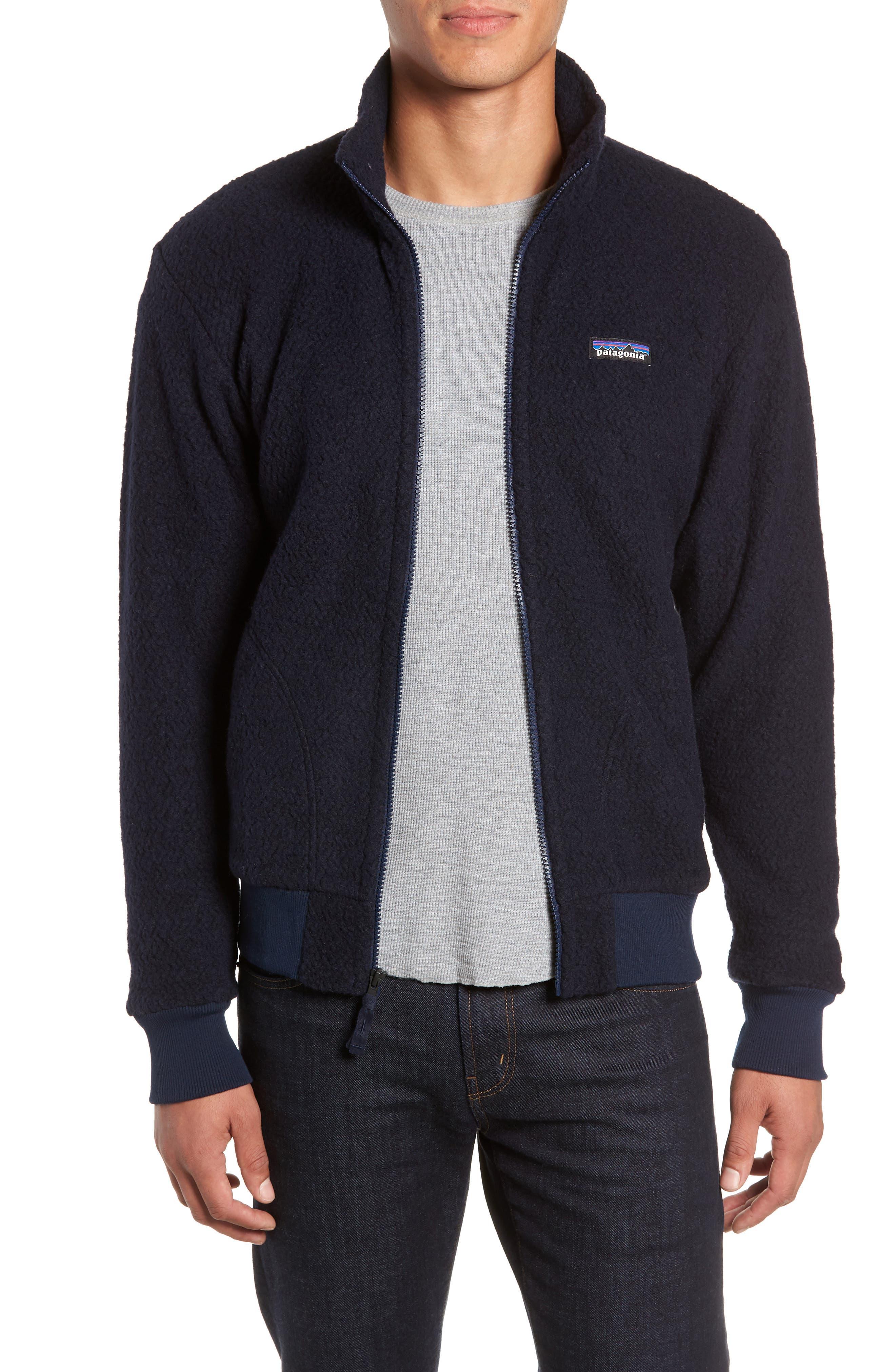 Patagonia Woolyester Fleece Jacket, Blue