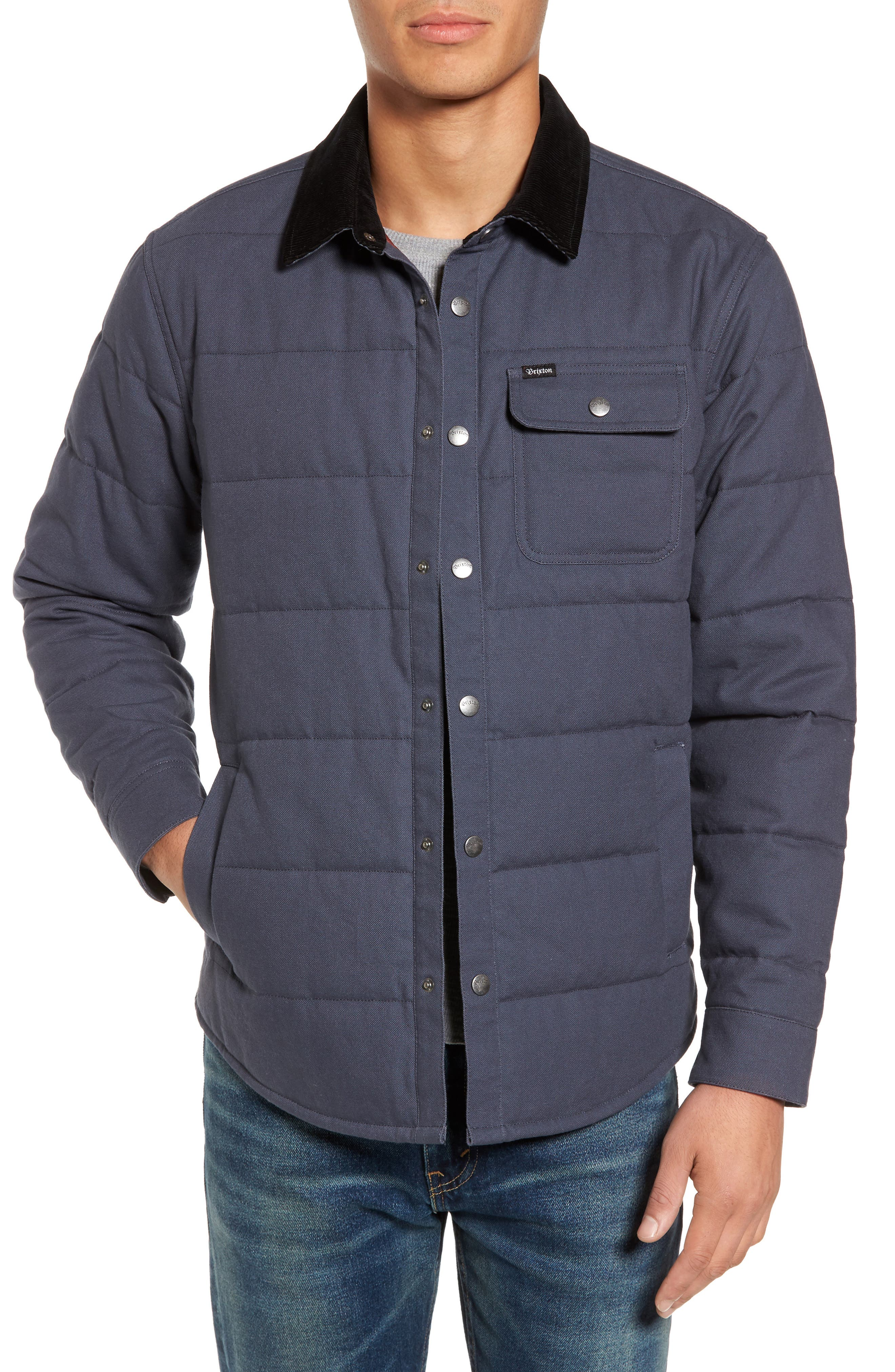 'Cass' Quilted Jacket,                             Main thumbnail 4, color,